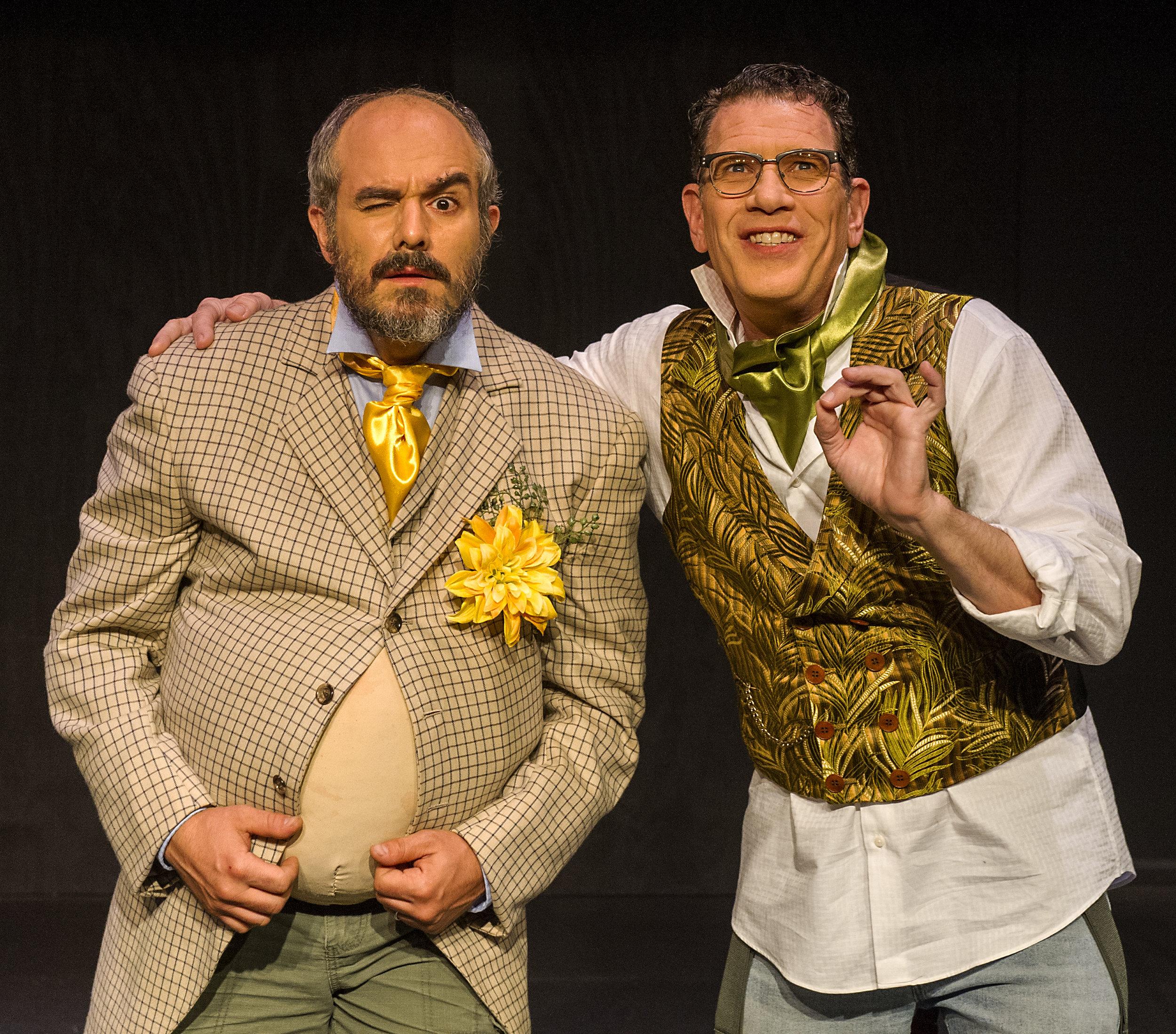 Giovanni Villari (Squatriglia) and Mickey Abbate (Chee Chee)