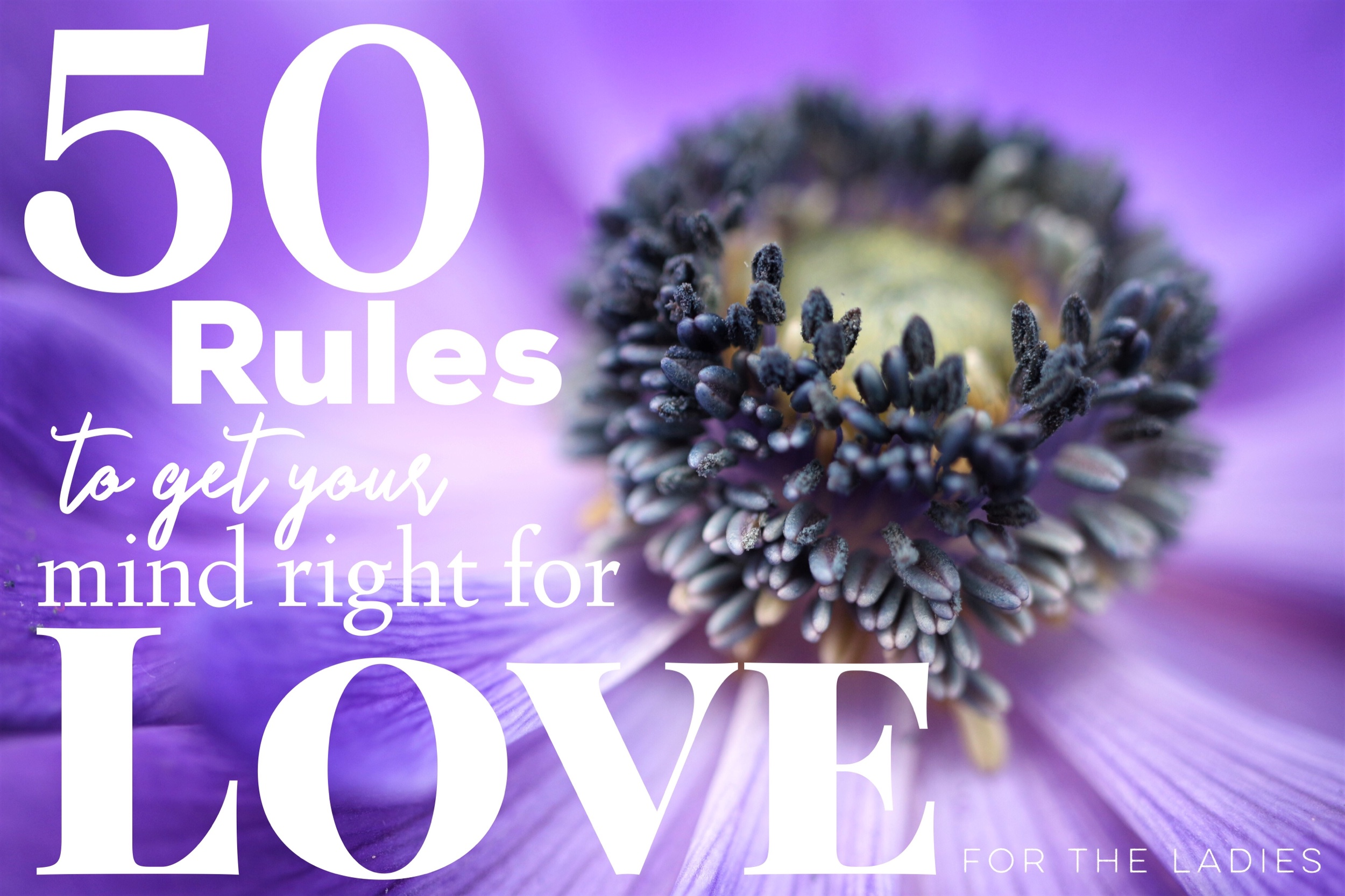 Get your mind right for love -