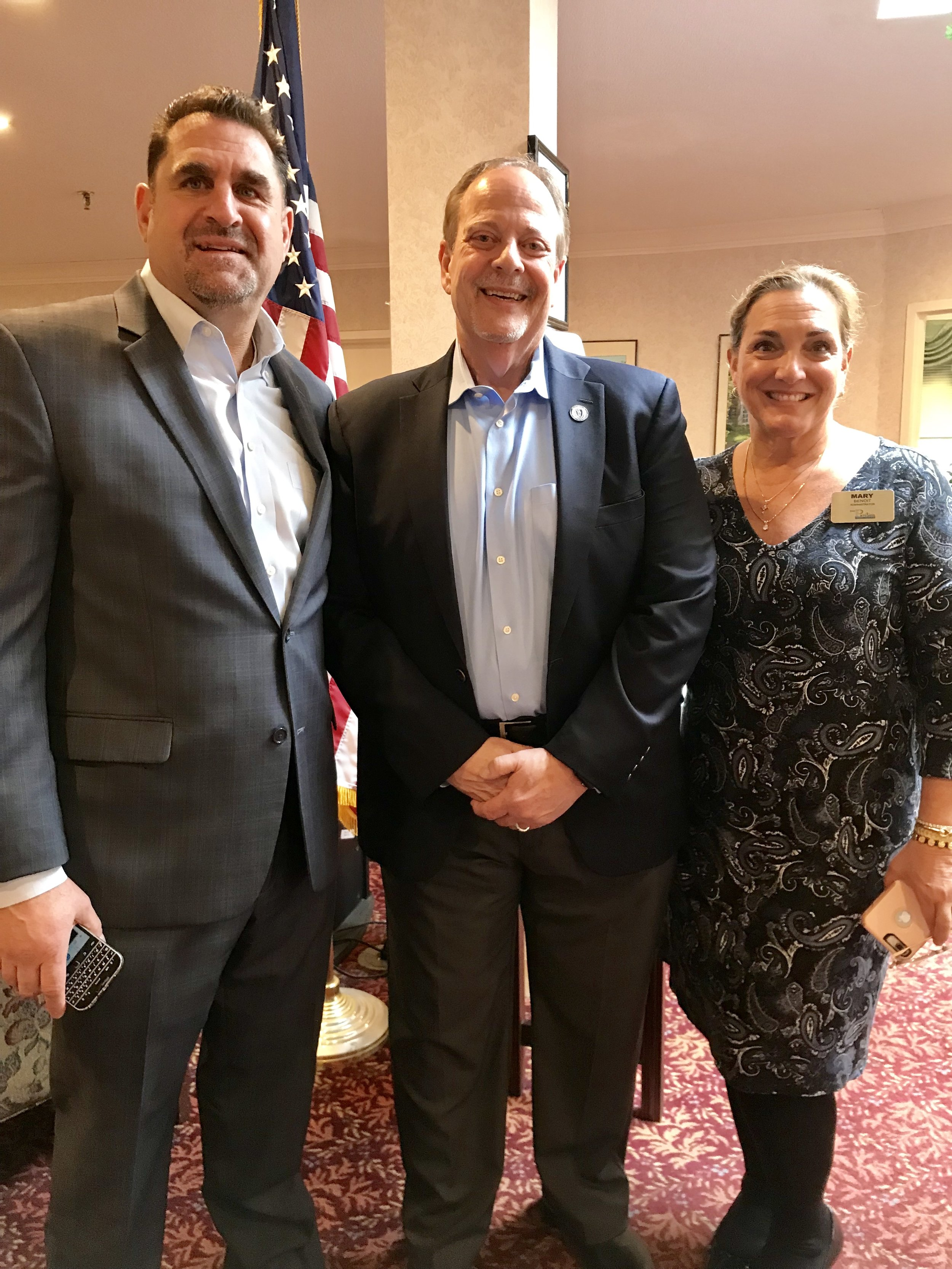 State Rep Will Crocker with Steven Raso and Mary Benoit.jpg
