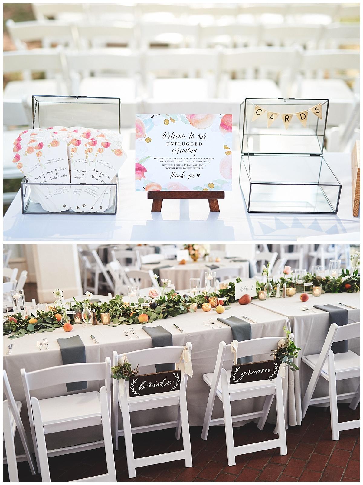Georgia Peach Wedding Feature - Bespoke Stationery
