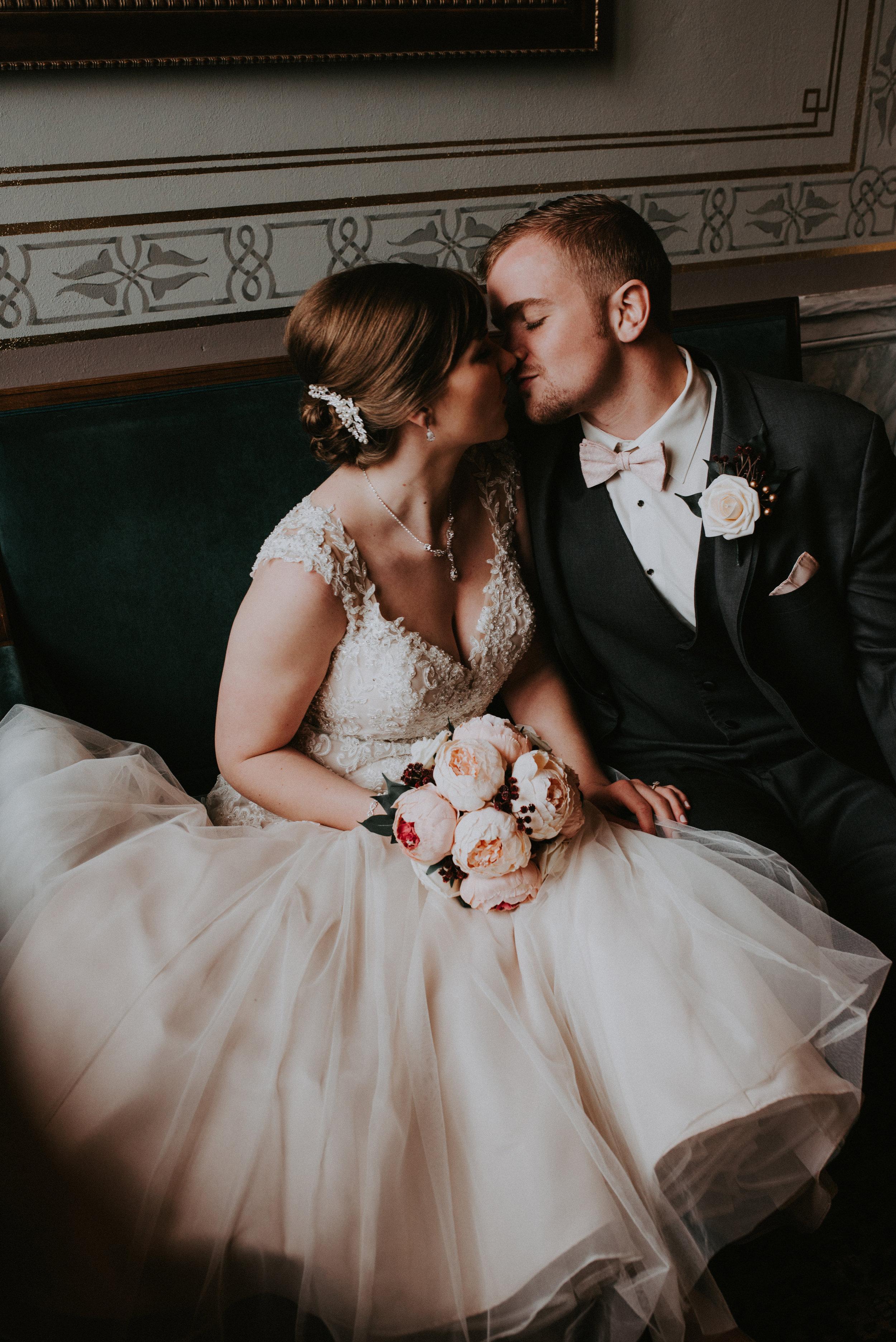 Kaitlyn + Levi Des Moines Wedding