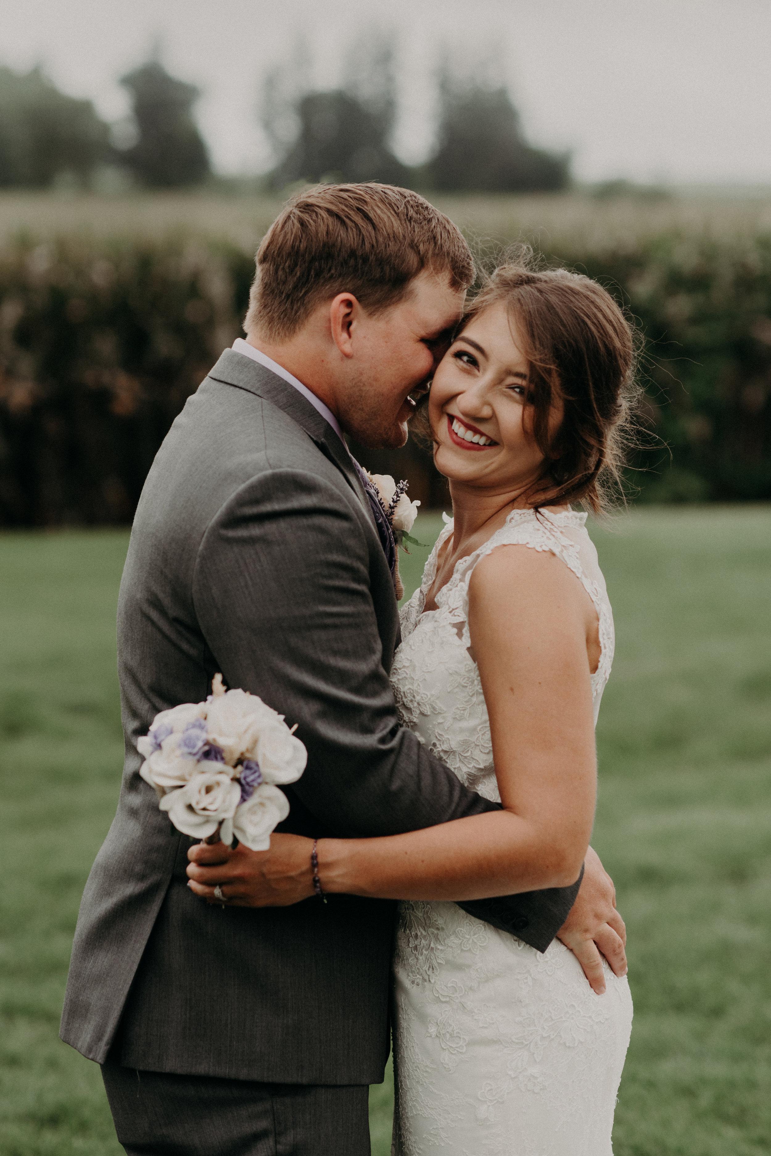 Jesse + Trevor   Iowa Wedding