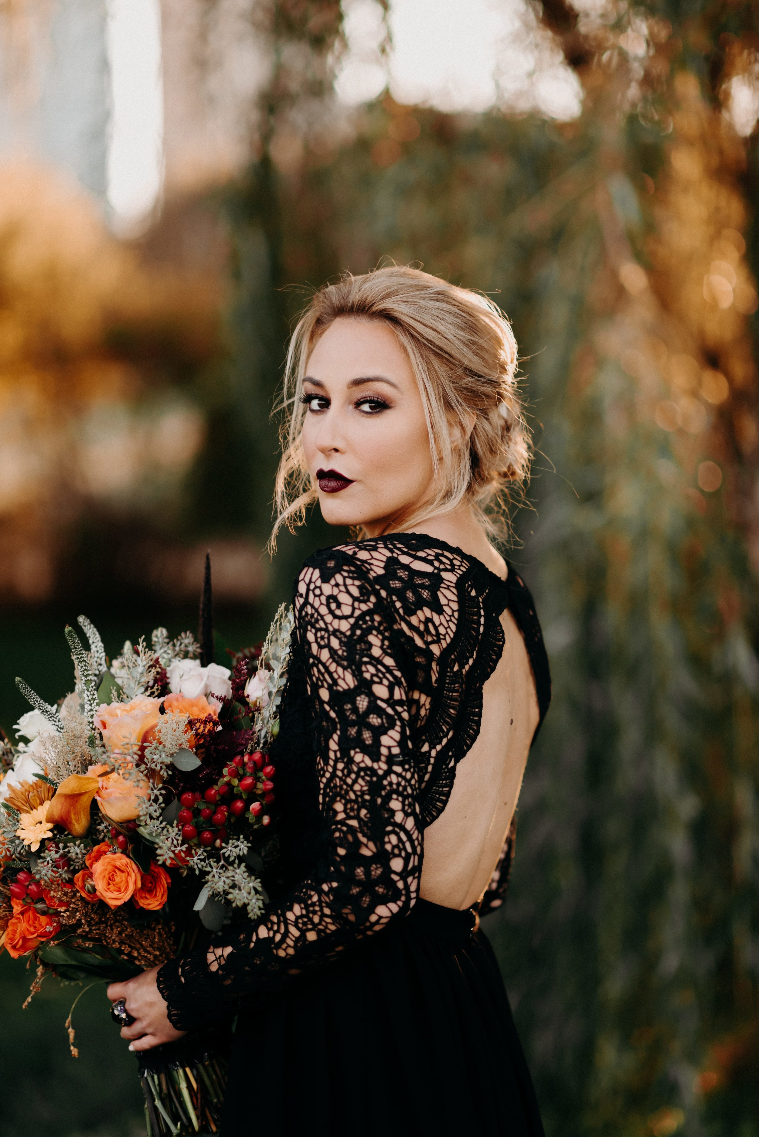 Styled Fall Wedding Shoot   Chicago, IL