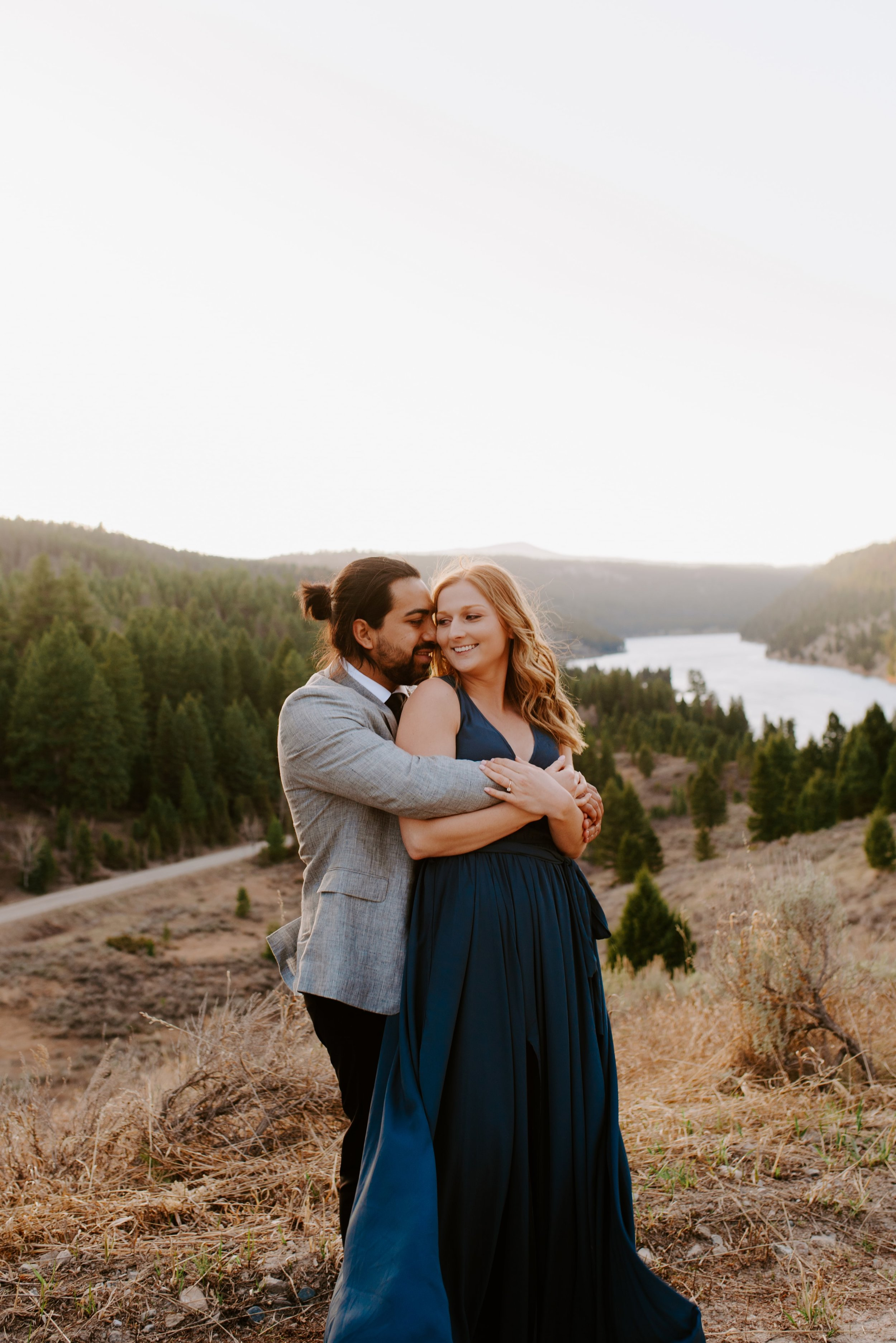 Shelby and Alexis Bozeman Montana Engagement Session 3.jpg