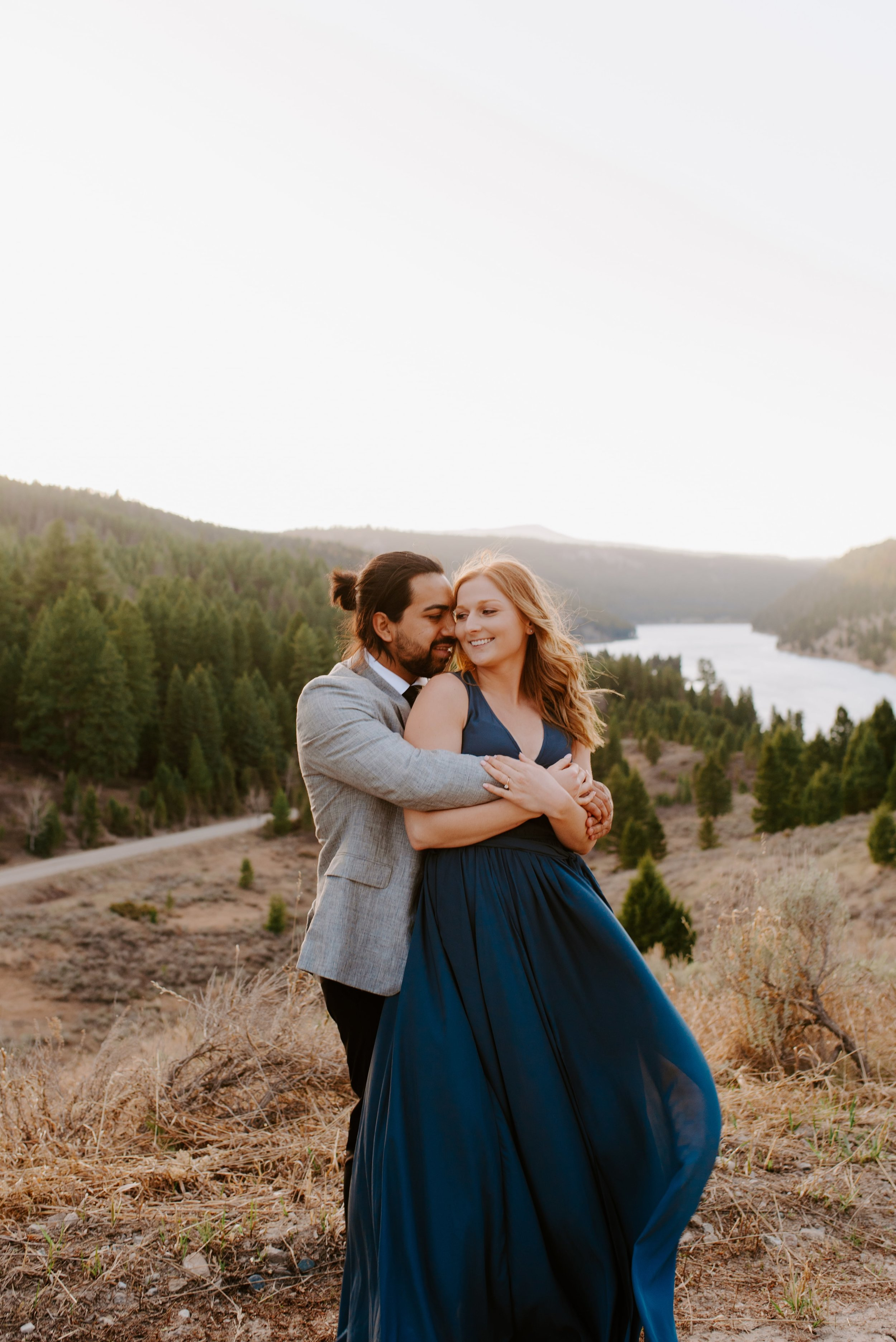 Shelby and Alexis Bozeman Montana Engagement Session 6.jpg