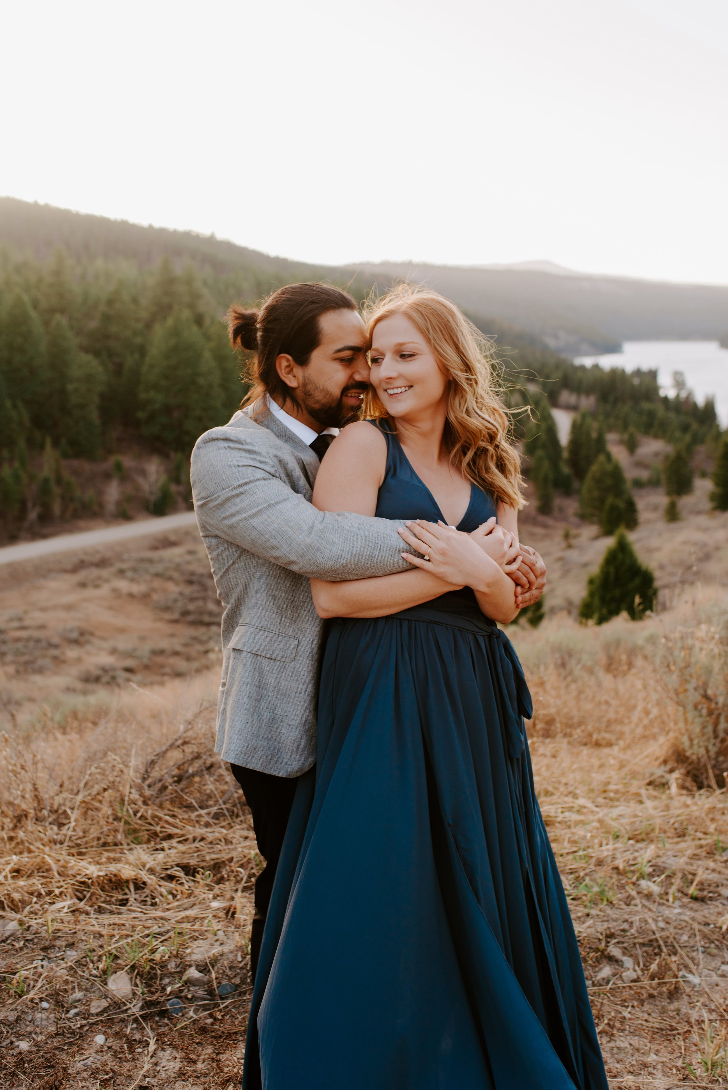 Shelby and Alexis Bozeman Montana Engagement Session 9.jpg