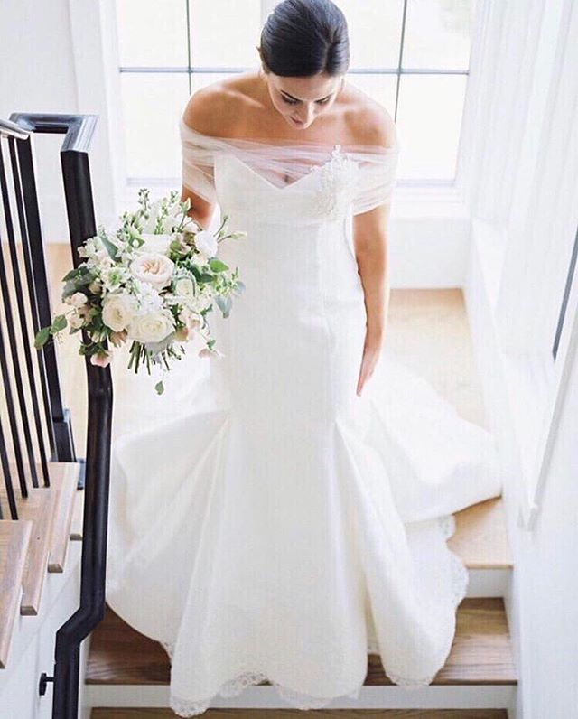 #Repost @heidielnoraatelier ・・・ 💫Perfection ✨⠀ ⠀ Dress | Meaghan Augusta + Tulle Shawl @buildabride_official⠀ Photgraoher | @ducastelphotography⠀ Florals | @marigolddesign)⠀ Wedding Planner | @courtney_invision⠀ Makeup | @courtneywhite.style⠀ Gown alterations | @hollowtohem⠀ #heidibride #weddingdress #weddinginspo #birmingham #buildabride #bride #engaged