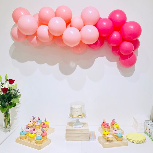 Such a sweet party today by @confettiroseparty 💕💕 #youaremysunshine