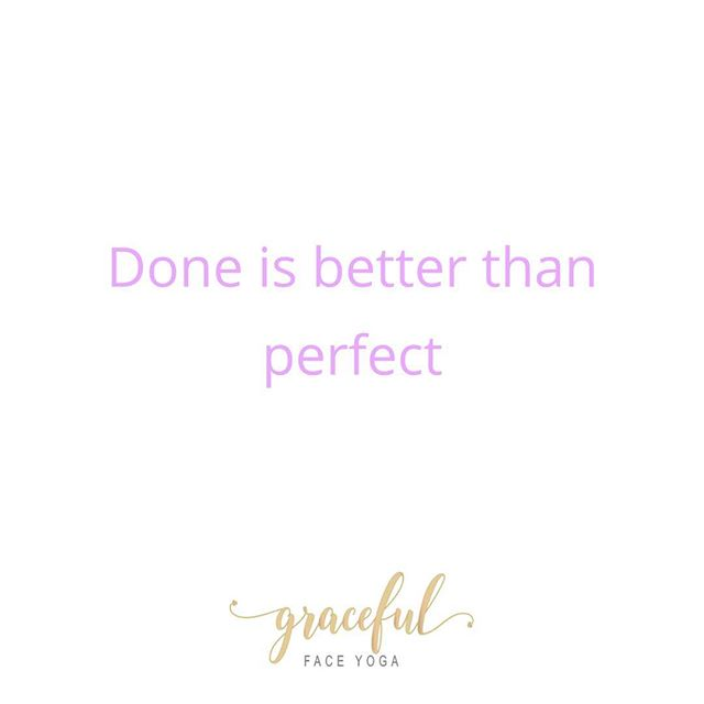 Reminder to myself that sometimes you just gotta put stuff out there even if it's not perfect! This is definitely something I struggle with as an INFJ personality type. Any other wellpreneurs // creativepreneurs // femalepreneurs out there relate with this? Let me know below!!! 😜🙈💗 - - - - - - - #gracefulfaceyoga #loveyourface #femaleowned #femalepreneur #wellpreneur #femaleownedbusiness #girlboss #bossbabe #nichebusiness