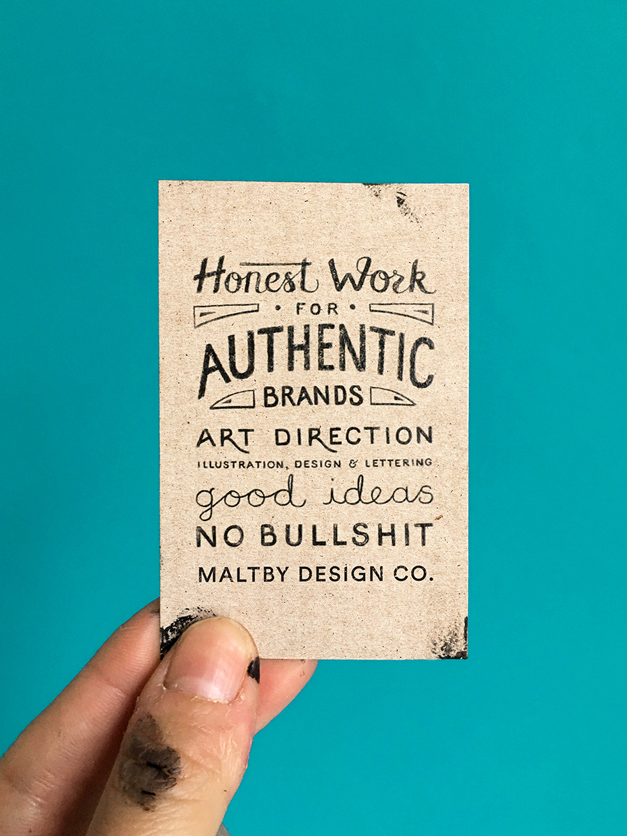 Honest work for authentic brands