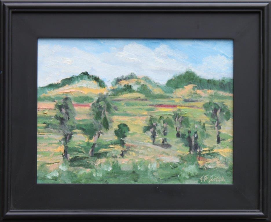 Coburg Pastures Oil on Panel 12 x 16 $325.00