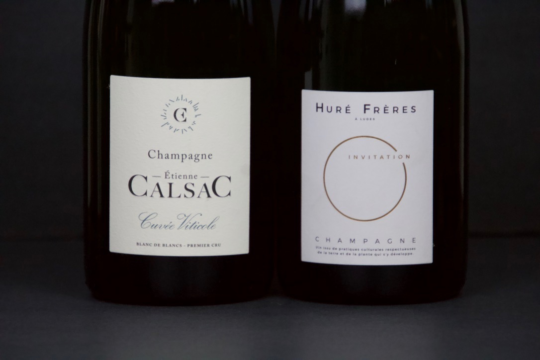 December 2018 - Hure Freres Champagne and Etienne Calsac Champagne (Cuvee Viticole)