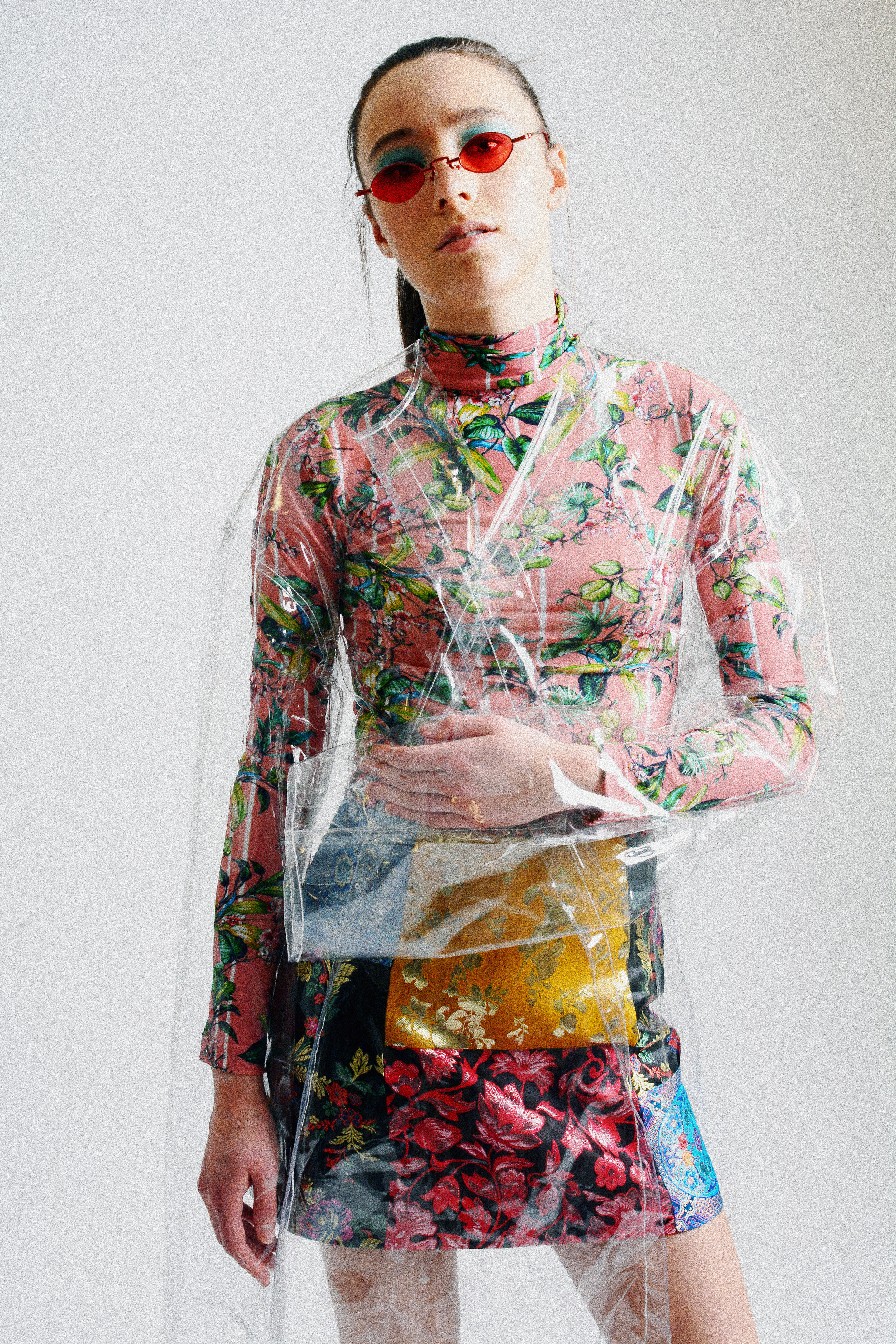 Dress: Vetements Jacket: NOT DEAD YET Skirt: Alicia & Olivia Socks: Stance David Bowie Colab Shoes: Steve Madden Sunglasses: Mooki May