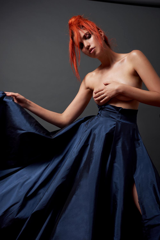 Blue Skirt: Sócrates Cruz @_socratescruz