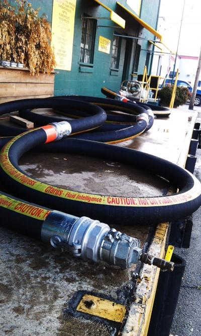 """4"""" Petroleum Hose Test"""