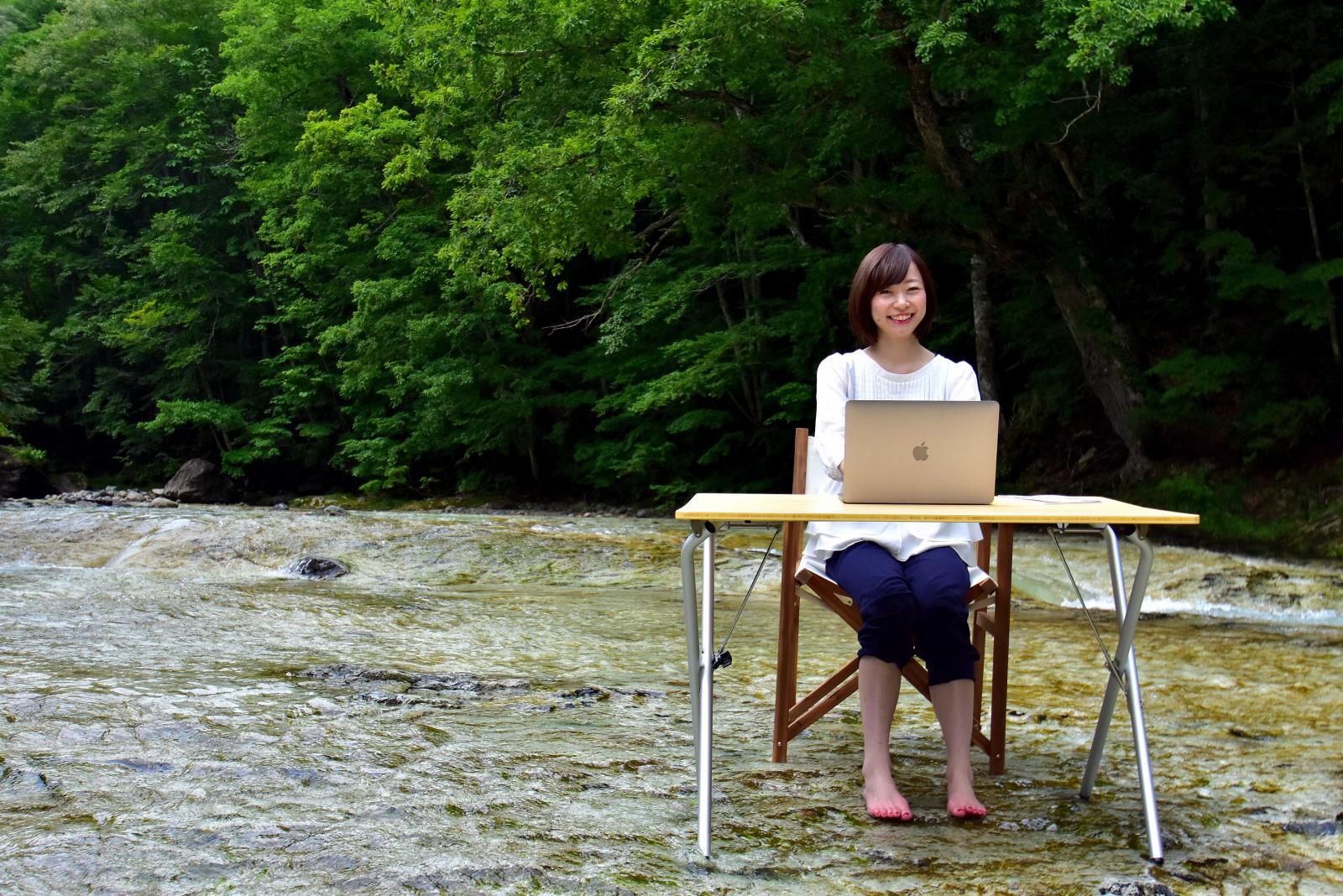 真夏の水冷オフィス