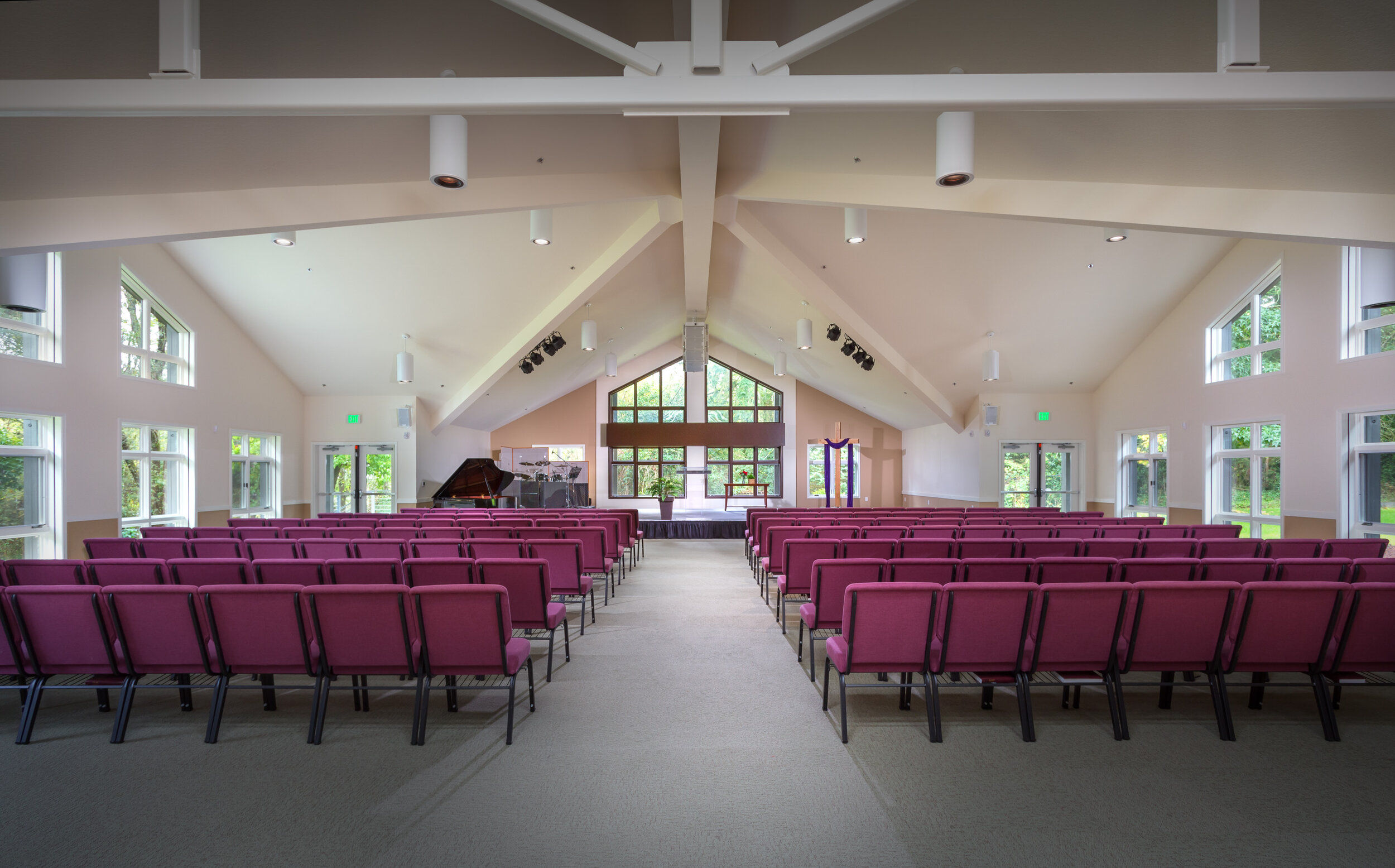 Abundant natural light makes for   Beautiful Weddings   and other events