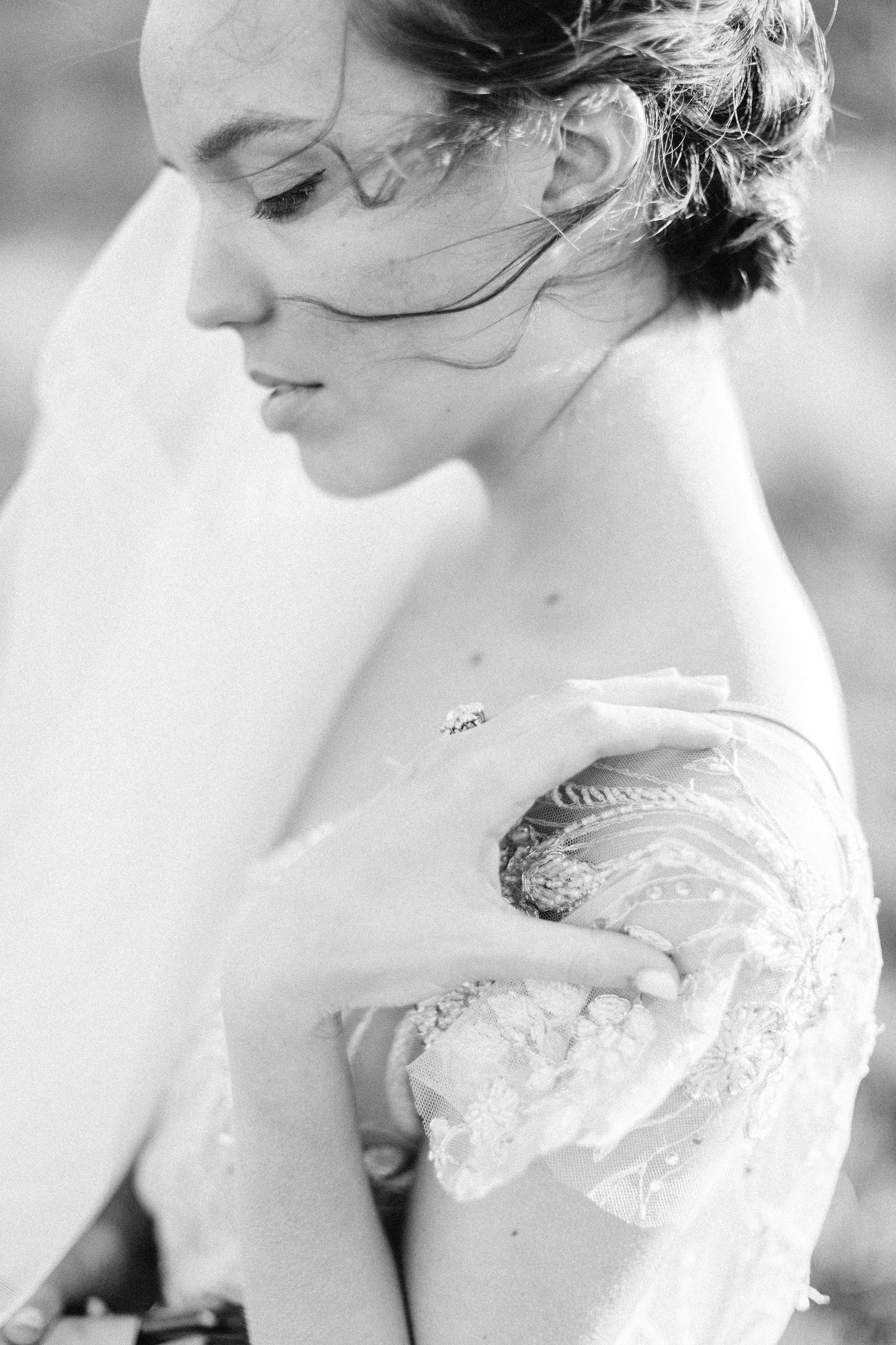 Bridal Portraits by Michela Brooke Photography