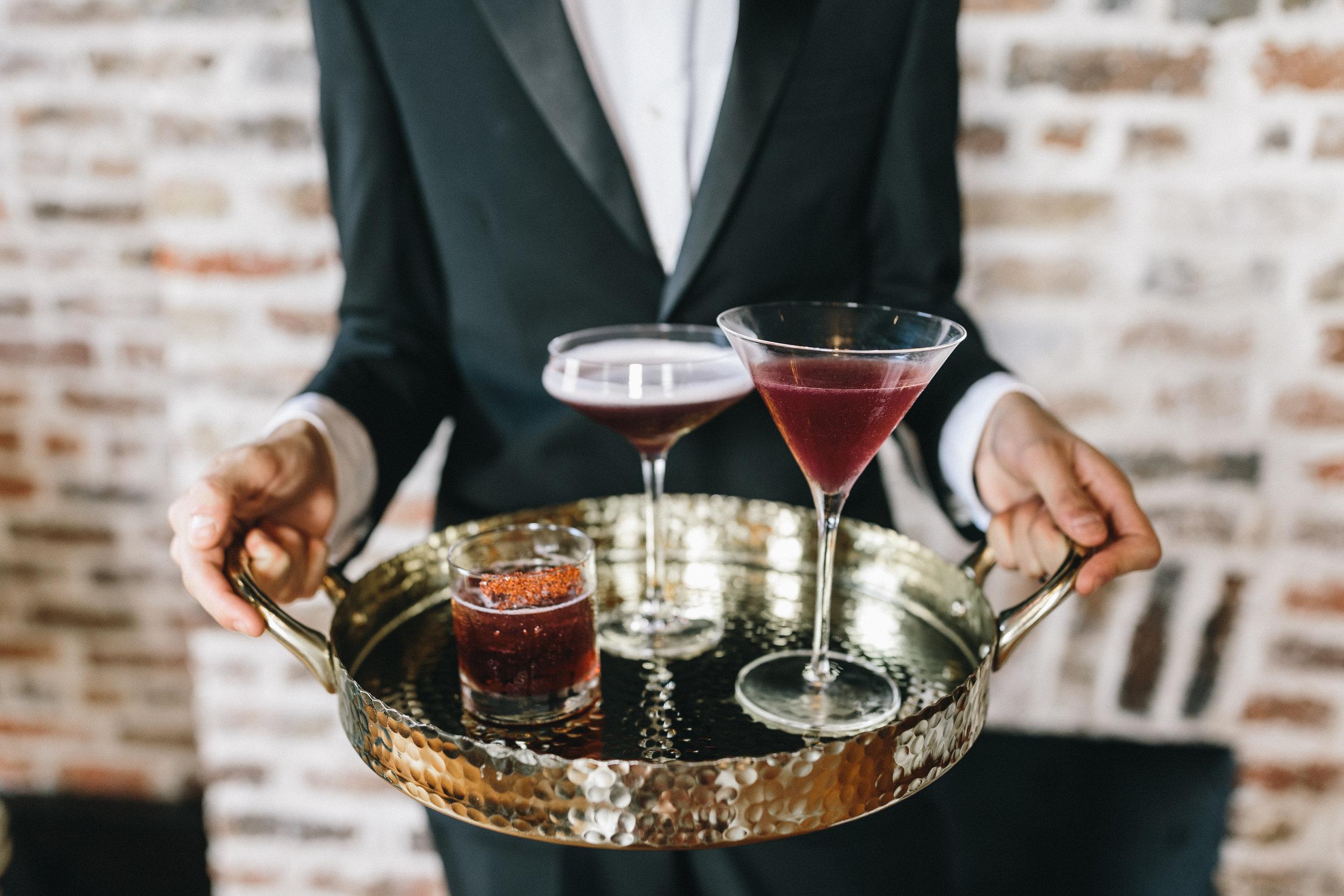 Reception Cocktails, Savannah Wedding Planning by Fleeting Elegance