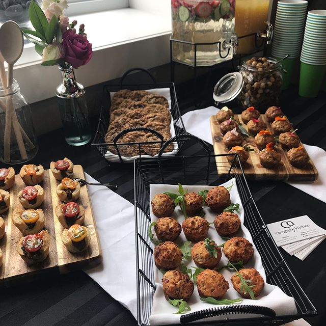 Morning Spread at Studio 44 supporting 'Mental Health in Motion' - #canadian #mental #health #association #studio #44 #hair #and  #heart #counity #kitchen #aurora #cafe #restaurant #support #local #community