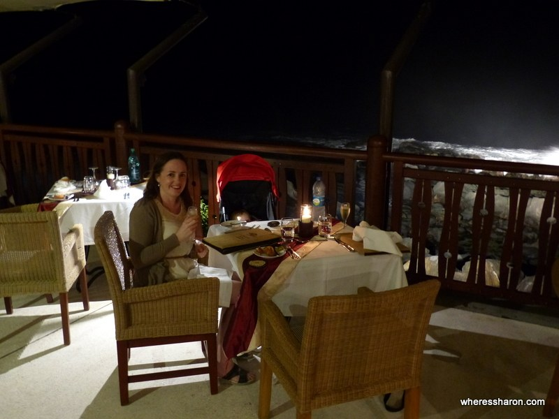 A special dinner at Restaurant La Phare
