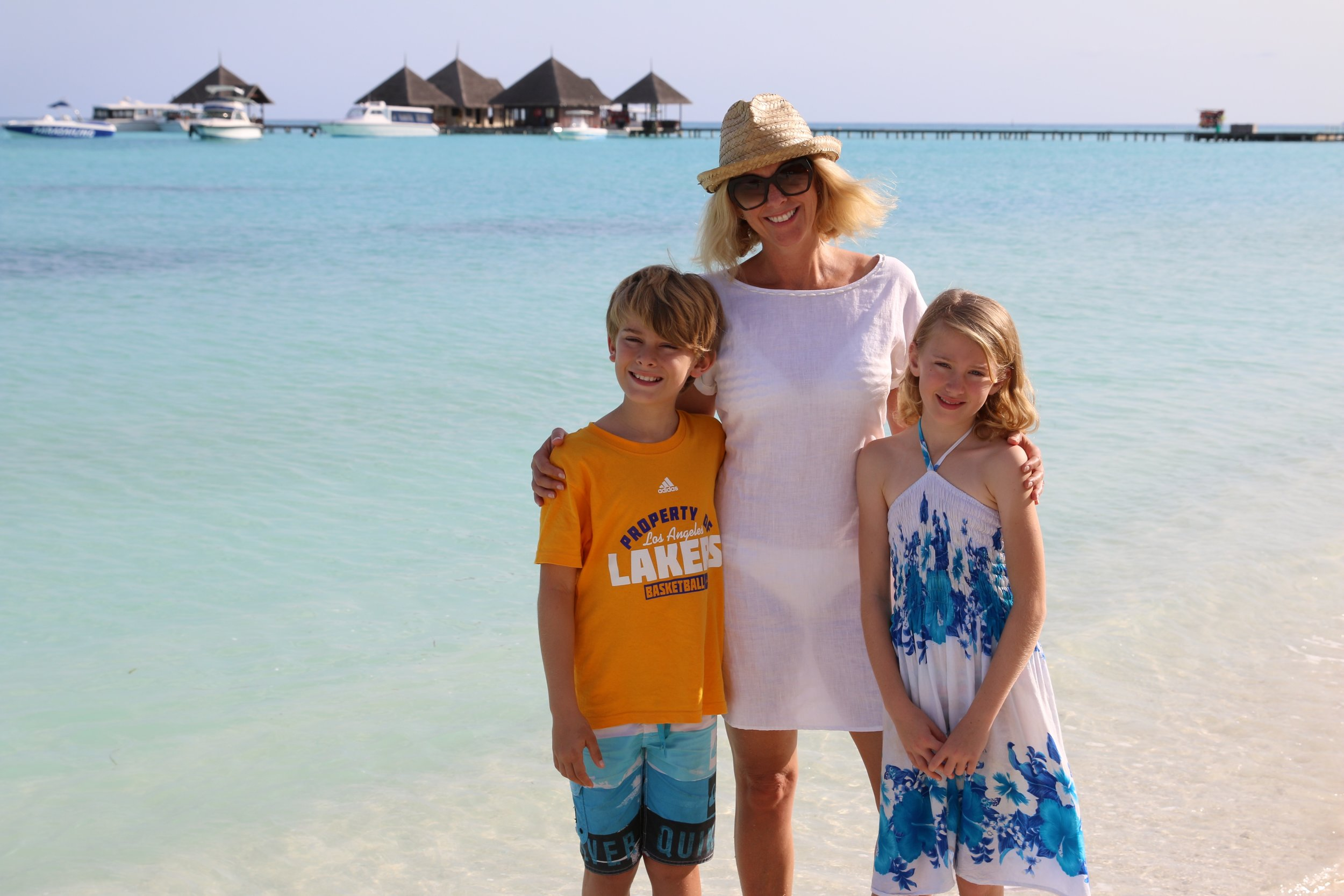 Tracey Spicer in Club Med Kani