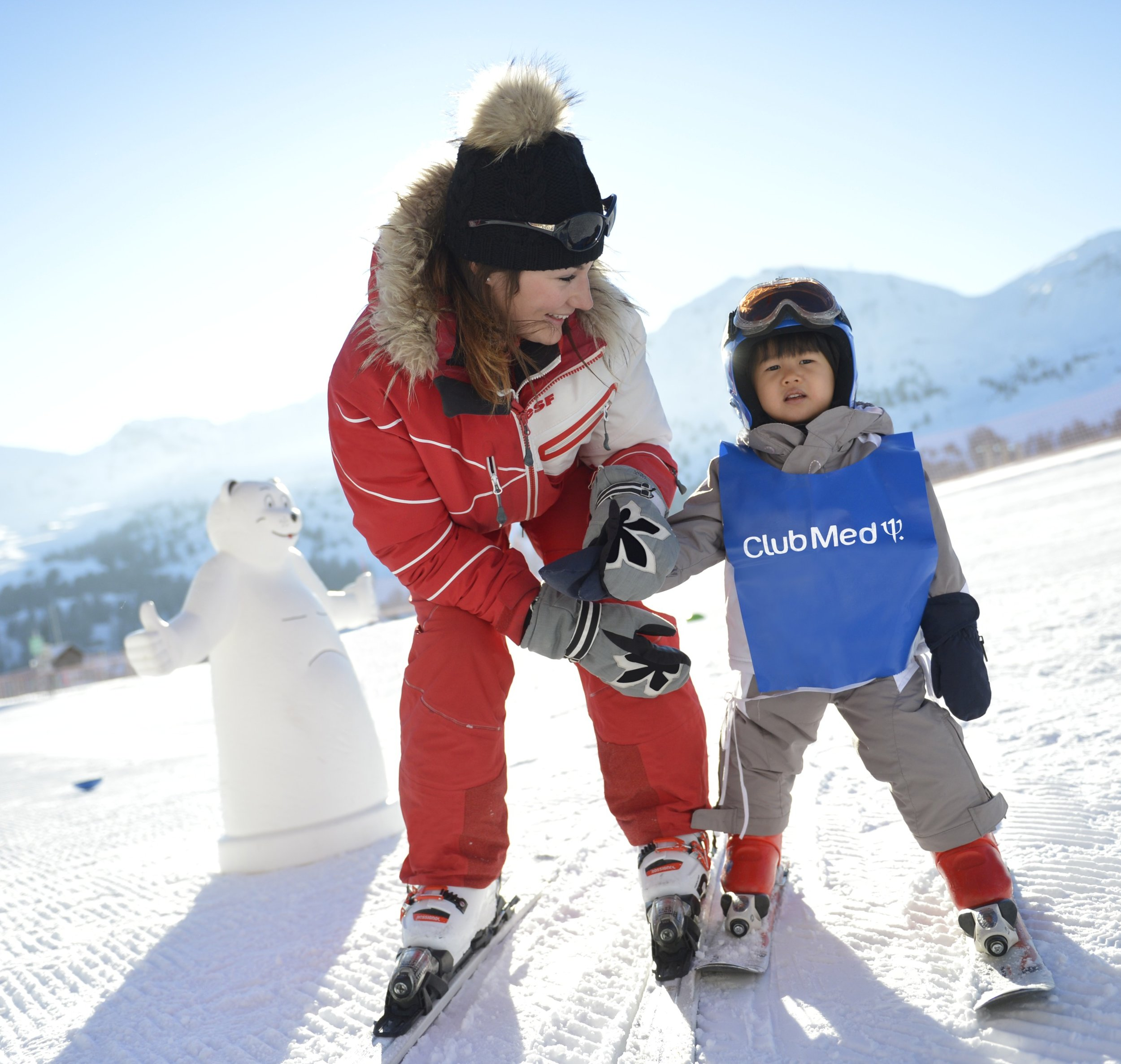#3 A kid's paradise - Kids will have endless fun during their snow holidays! All activities and age-specific clubs were created with them in mind so they can enjoy the very best of their holiday away. Whether they take part in a group ski or snowboard lessons for all levels of experience with English-speaking instructors or have fun in the Kids Clubs - we'll take care of everything to make their time amazing.