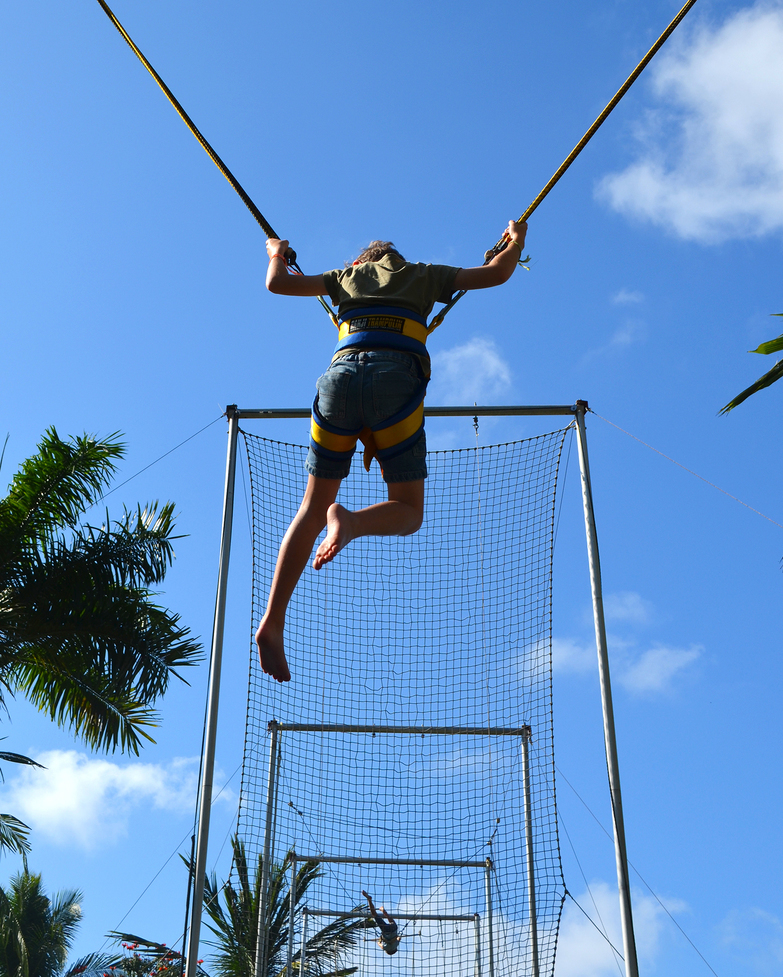 11 am - Thanks to our unique Flying Trapeze school, watch your kids learn new skills, build confidence, and even soar through the sky! Don't worry, they're in good hands thanks to the watchful eye of the trapeze expert GO.