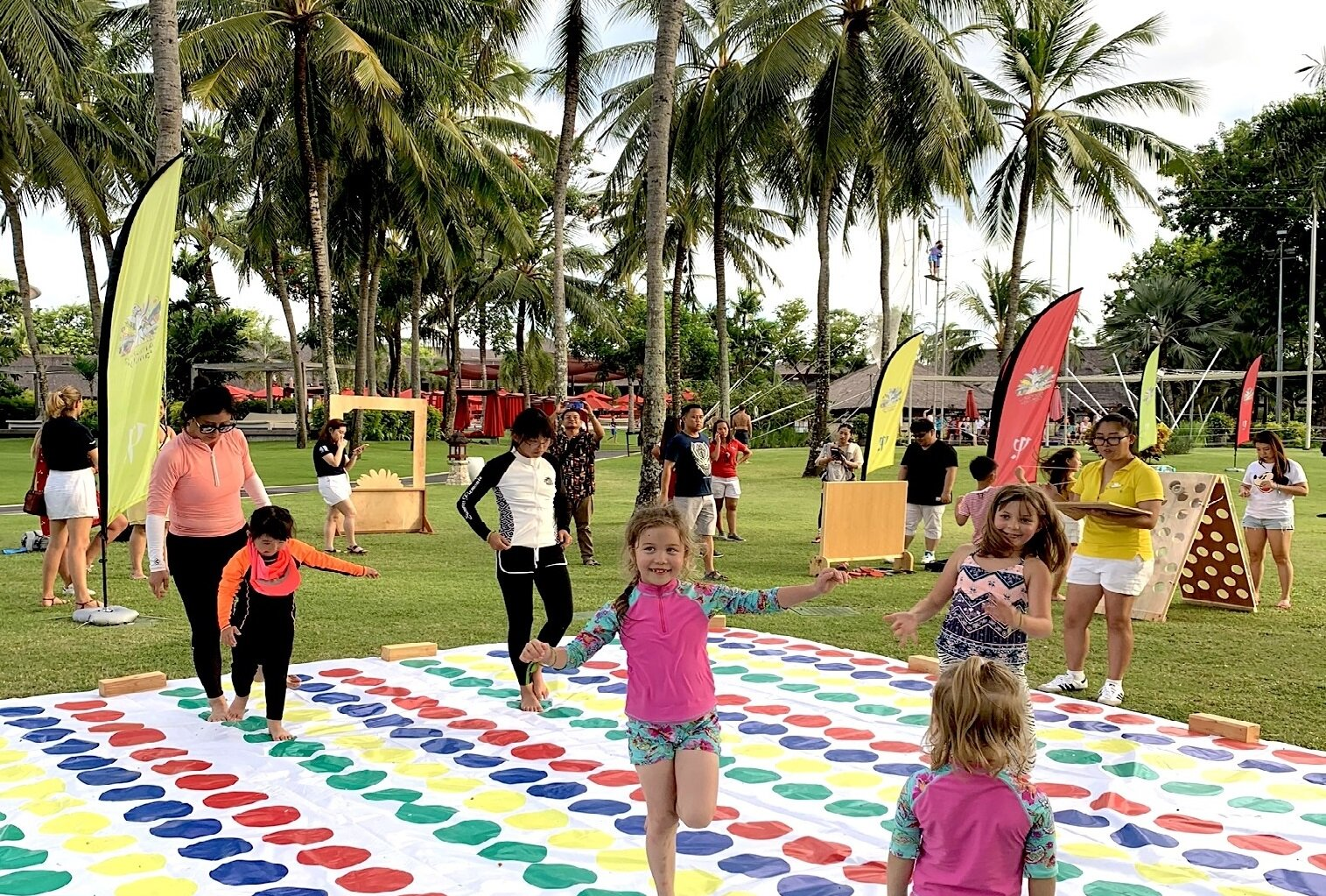 Amazing Family launch all around Asia!   Our  Amazing Family program  with activities for the whole family is now available at all  Asia sun resorts !  Water slides, tie dye activities, face painting, soccer, twister... and so much more!