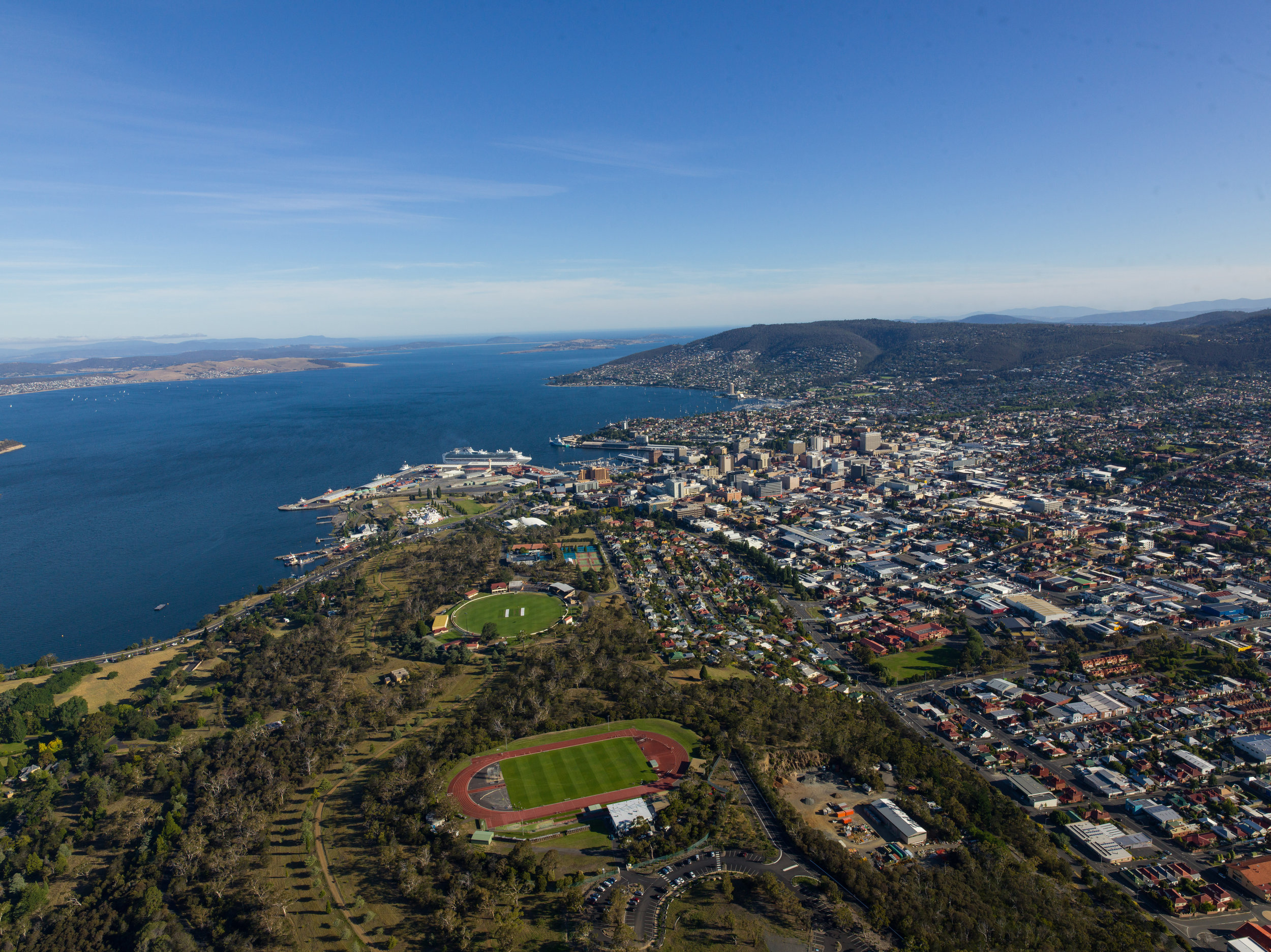 The TCA Grounds.  © Events Tasmania and Alastair Bett.