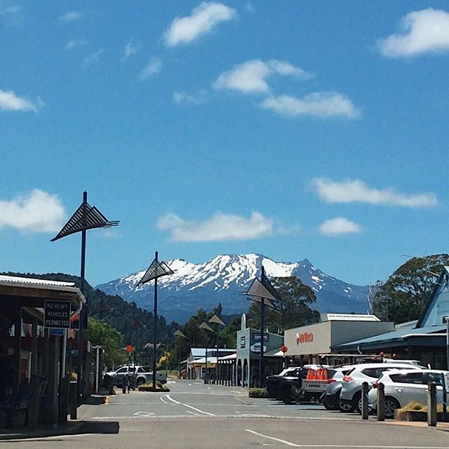 Found this on my phone, and I am all the way dead. At first view, I saw a snow-capped Mt. Ruapehu shot by my six-year-old nephew. From another view, I saw the great mana and respect linked to the sacred mountains of Aotearoa.  Whāia te iti kahurangi ki te tūohu koe me he maunga teitei ~ Seek the treasure you value most dearly: if you bow your head, let it be to a lofty mountain.  Following a few setbacks, I needed the reminder to aim high and stay the course for what really matters. I thought to share it in case someone else needs it too.  Photo credit: Asher Haapu  #koruapehutemaunga #perspective #keepon #newscreensaver