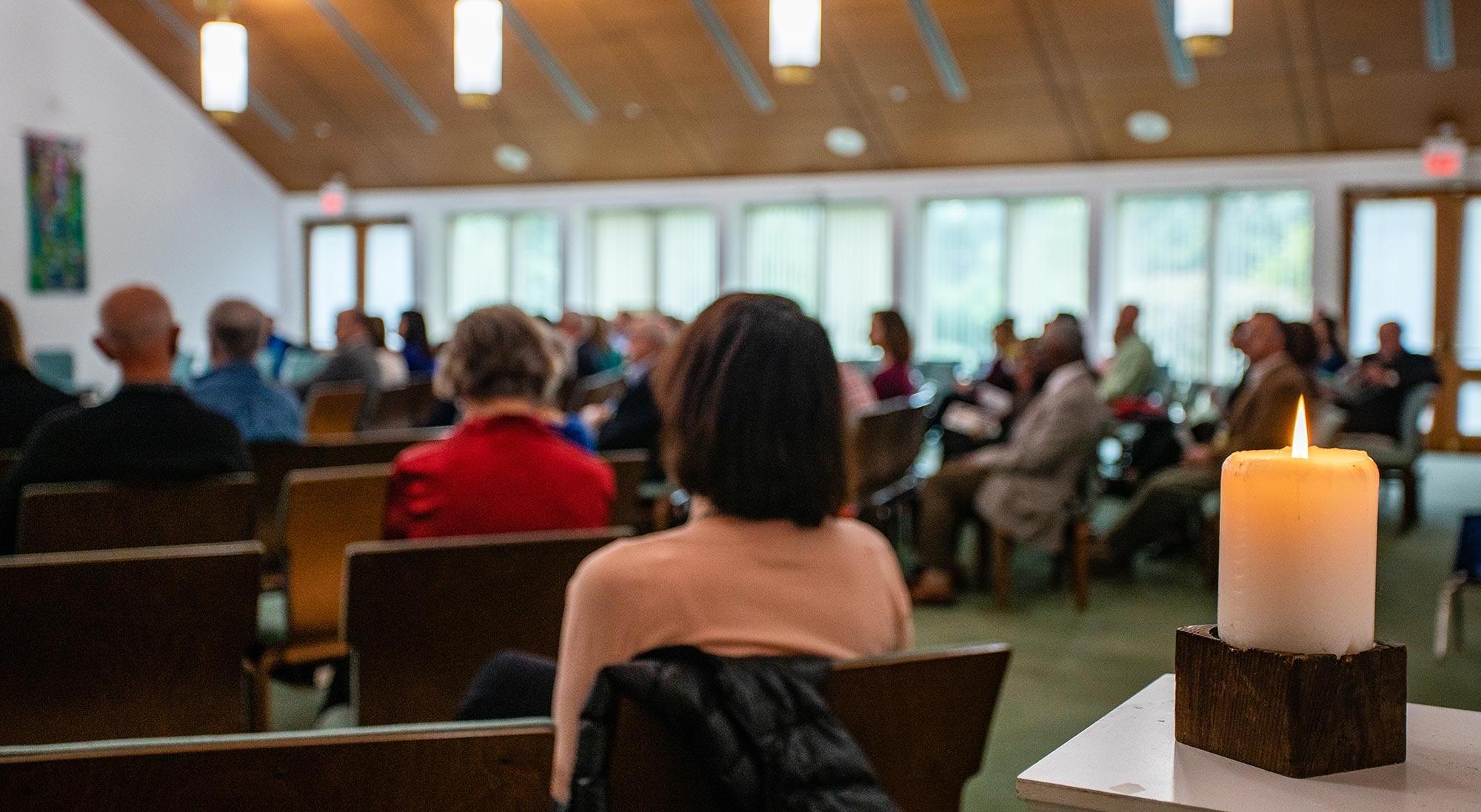 Worshiping as a congregation