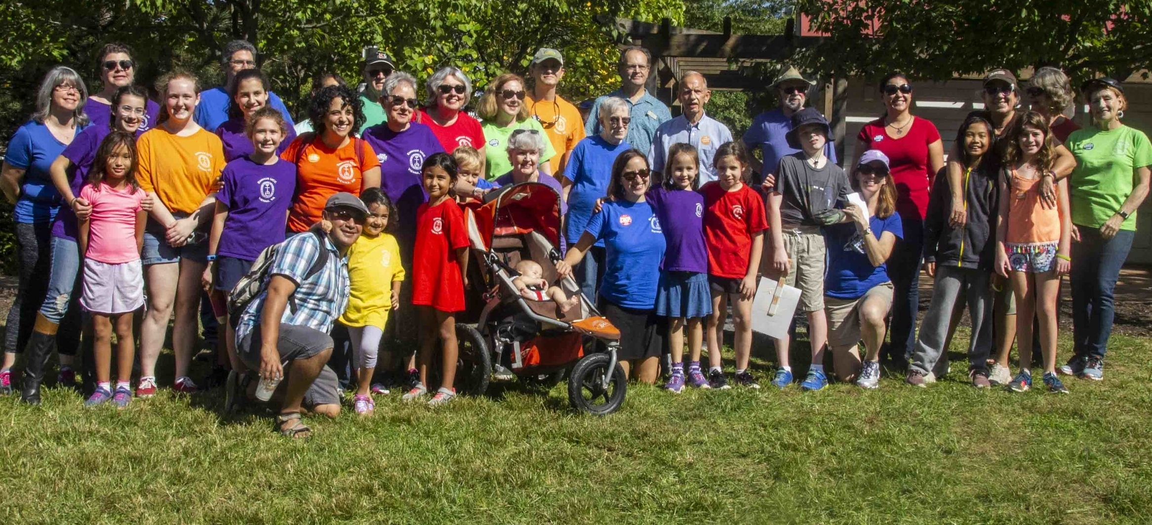 Emmaus members at the 2018 Crop Walk, part of Hunger Action Weekend