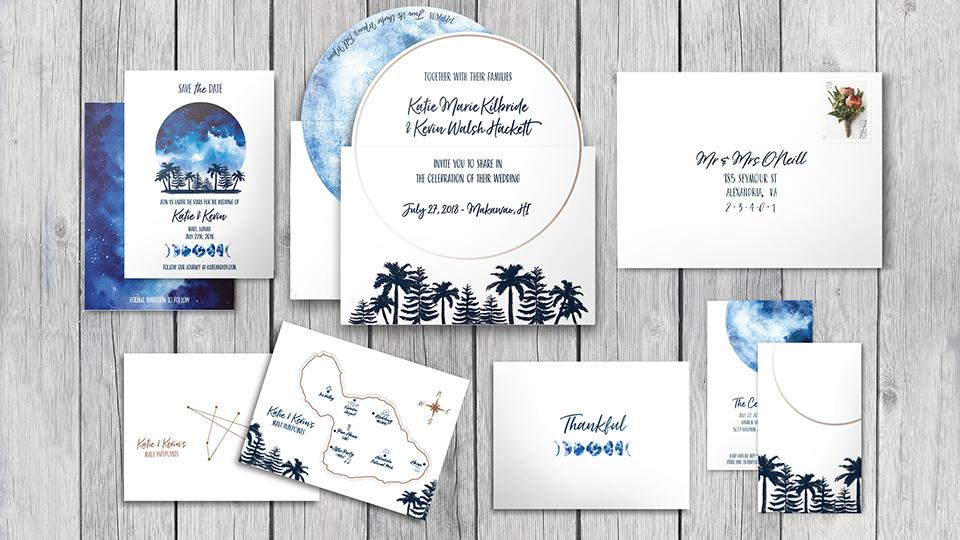 WEDDING INVITATION SUITE -