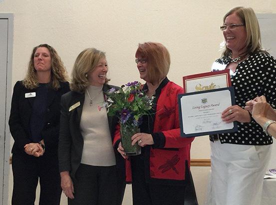 Teena awarded the Solano County Living Legacy Award!