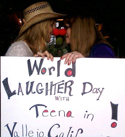 Celebrating World Laughter Day, May 5th!
