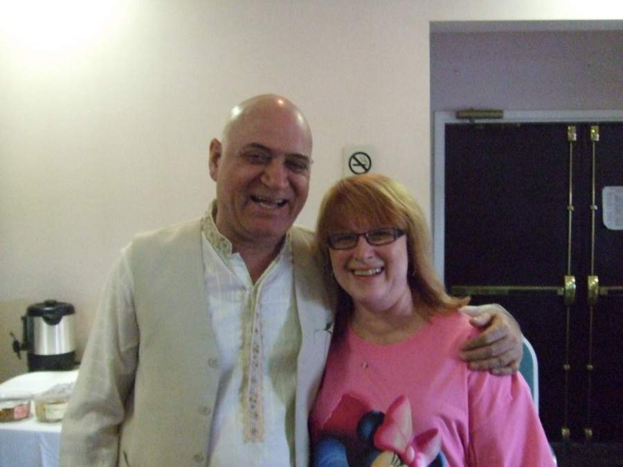 With Laugher Yoga Founder Dr. Kataria
