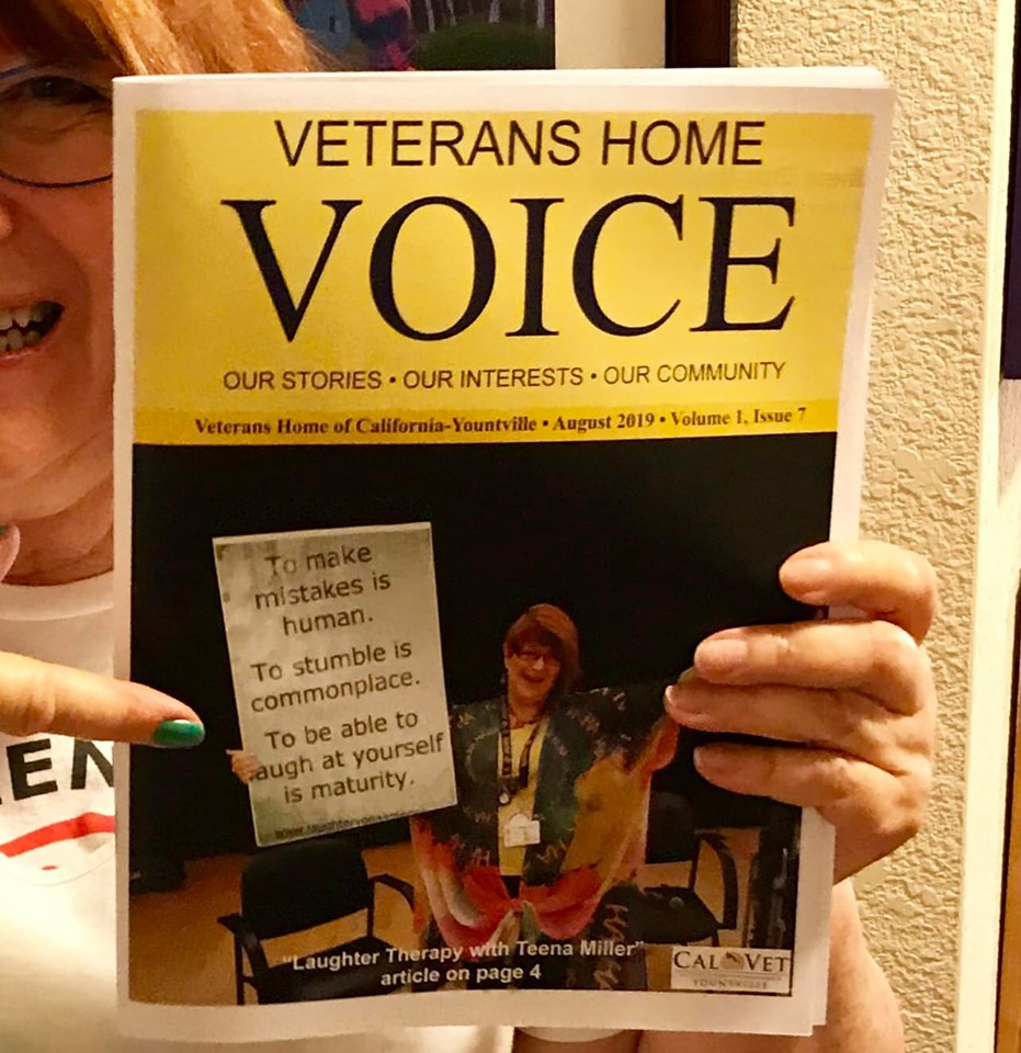 Cover Girl of the Veterans Home Voice
