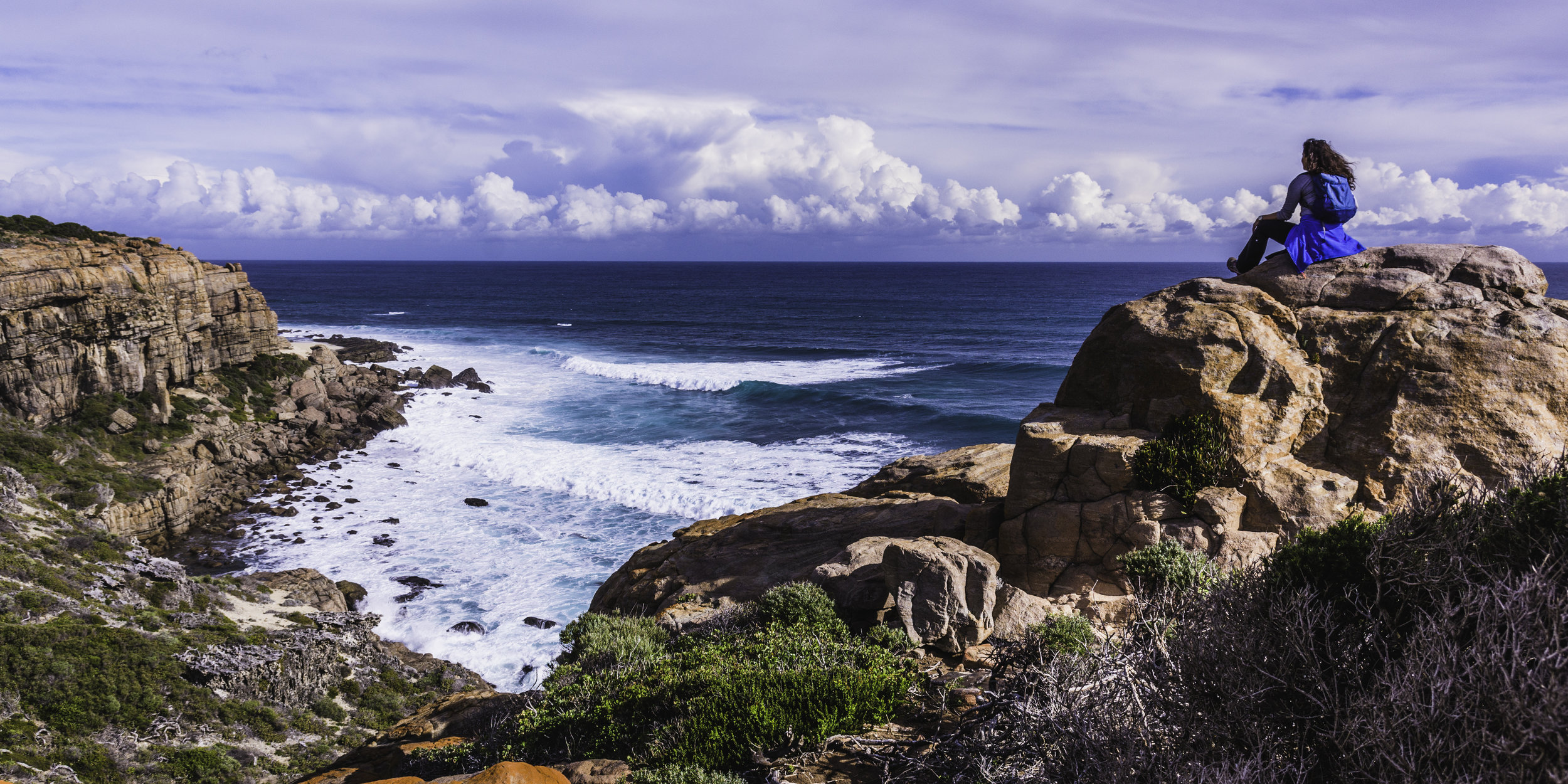 The horizon is full of possibilities…on the Cape to Cape, Margaret River, nature at its best