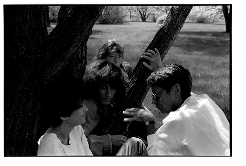 Clockwise from top: Nathalie Moliavko-Visotsky, Anne-Claire Poirier, Nadine Ltaif, Michka Saäl. Photo: Alain Chagnon
