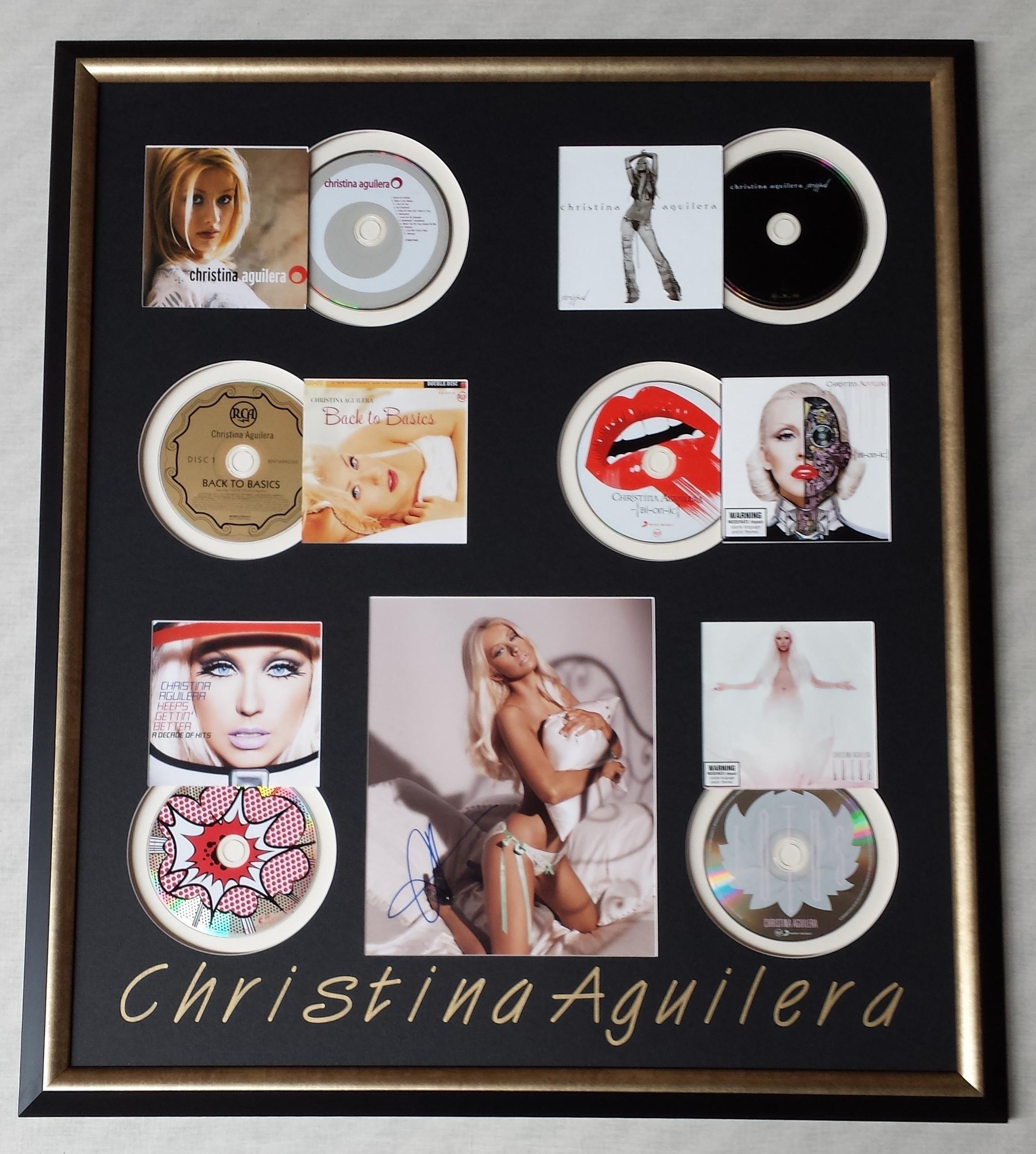 Christina Aguilera CDs