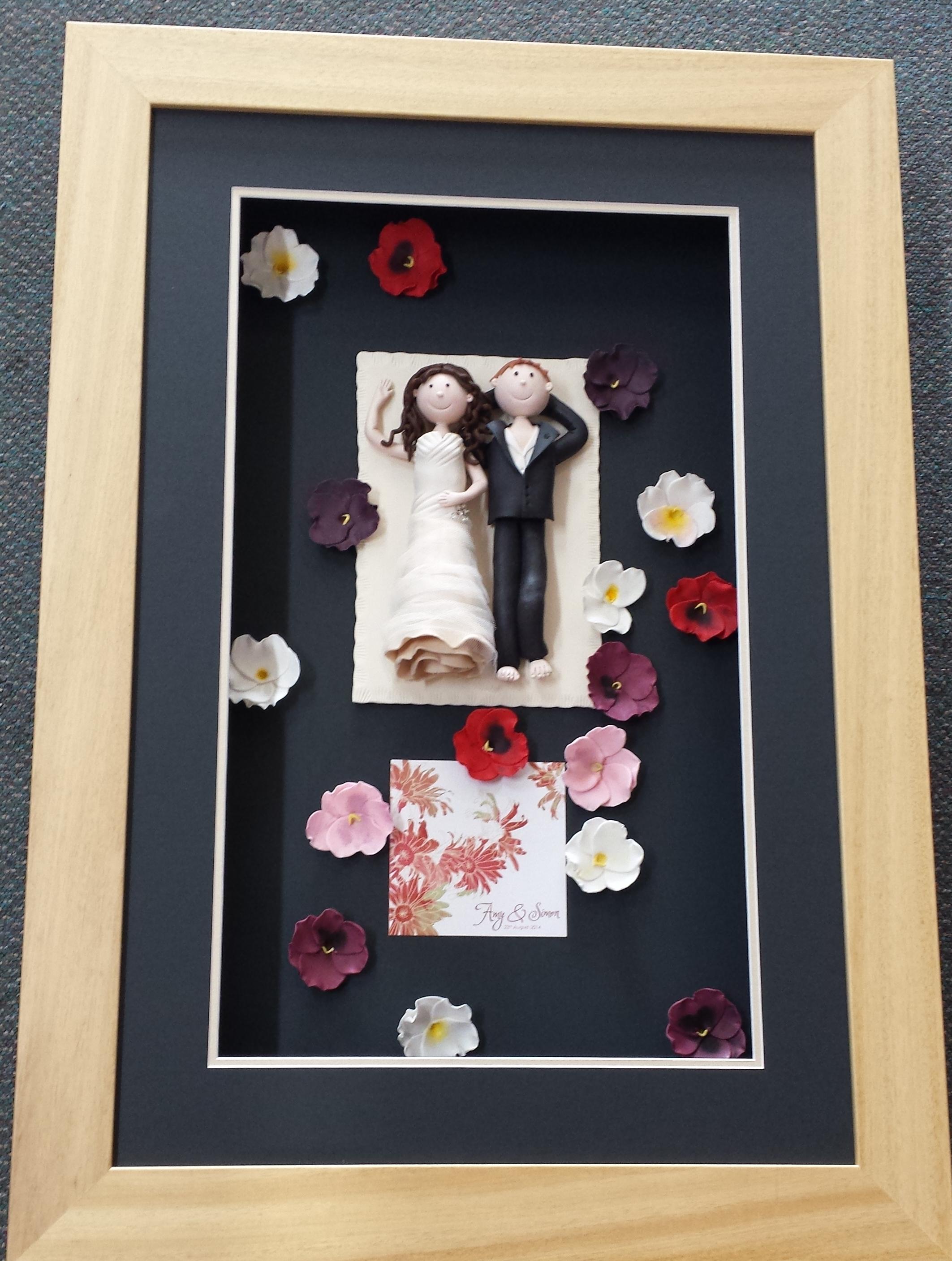 Wedding Cake Topper & Flowers
