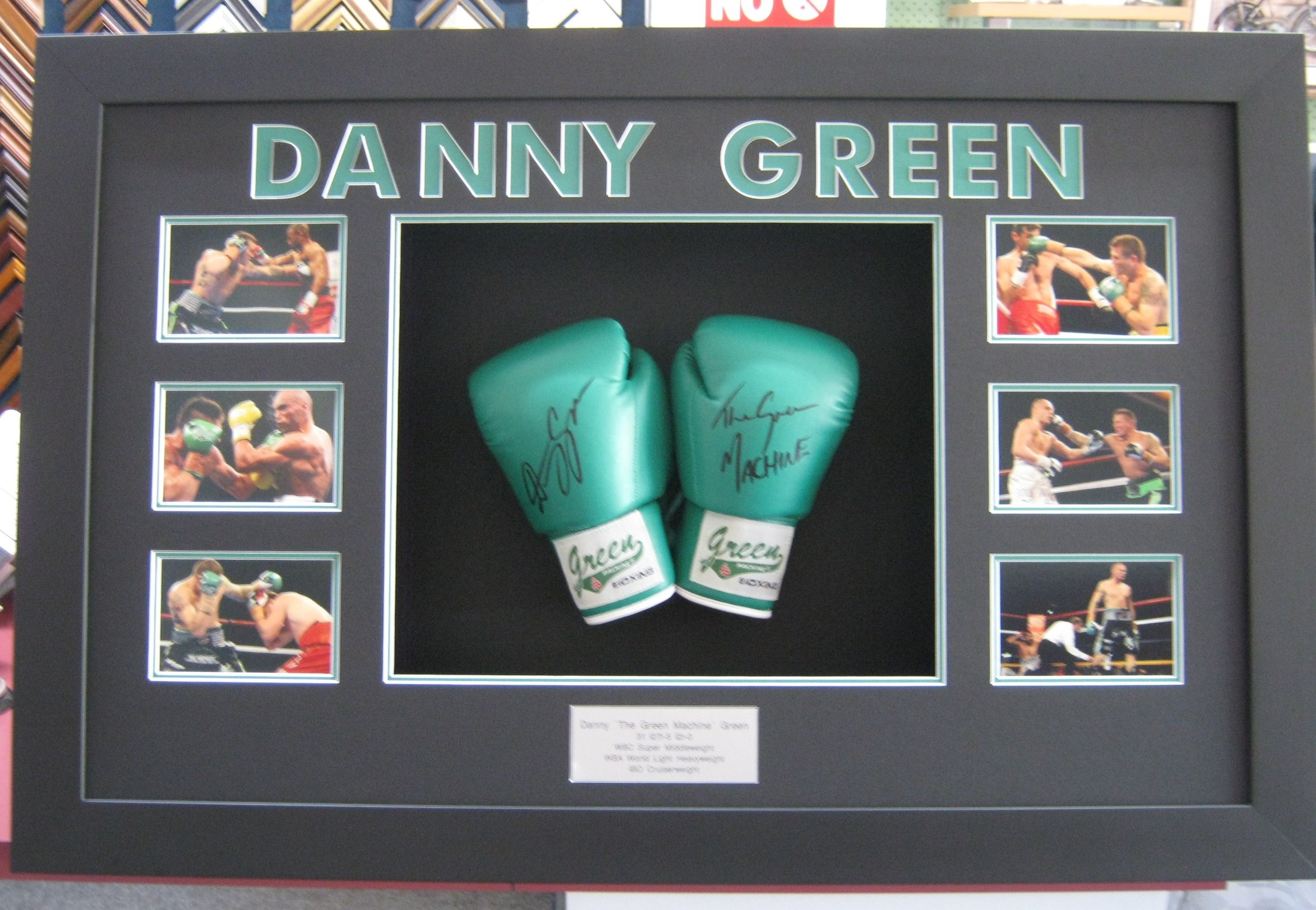 Boxing Gloves with Photos