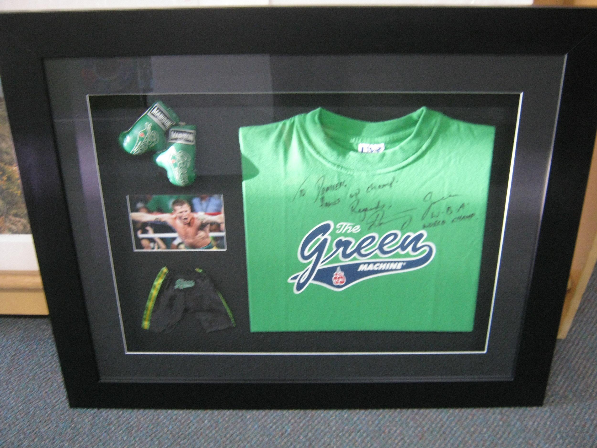 Danny Green memorabilia