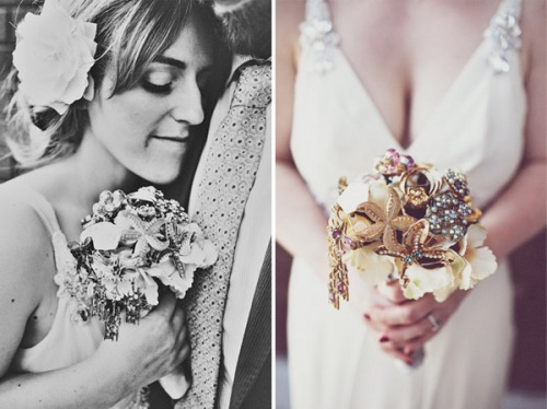 a photo of a brooch-bouquet made by anna-hardy