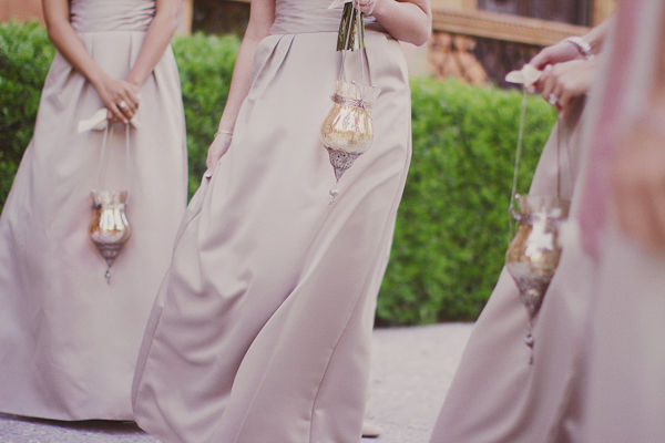 image showing womens holding wedding lanterns bouquets