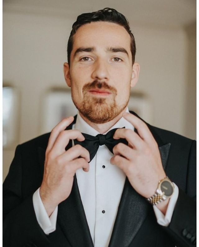 Following the black and white theme we've got going on, here's a handsome guy in a sexy tux to sweeten up your Saturdays, ladies ;) (PS Steph & Jonathan love you!)⁠ .⁠ .⁠ .⁠ Coordination: Frid Events // Photography: Marianne Rothbauer⁠ .⁠ .⁠ .⁠ #weddingplanner #instawed #engaged #ottawa #fridevents #weddingphotographer #weddinginvitations #bridetobe #ottawawedding #marriage #weddinginspiration #weddingday #ontariobridesfeature #realwedding #canadianbride #ottawaweddings #quebecweddings #stylemepretty #weddinghair #ottawaweddingplanner #ottawaeventplanner #ottawabride #eventplanner #rusticwedding #industrialwedding #weddingblog #weddingvenues #junebugweddings #wedluxe #weddingbells⁠