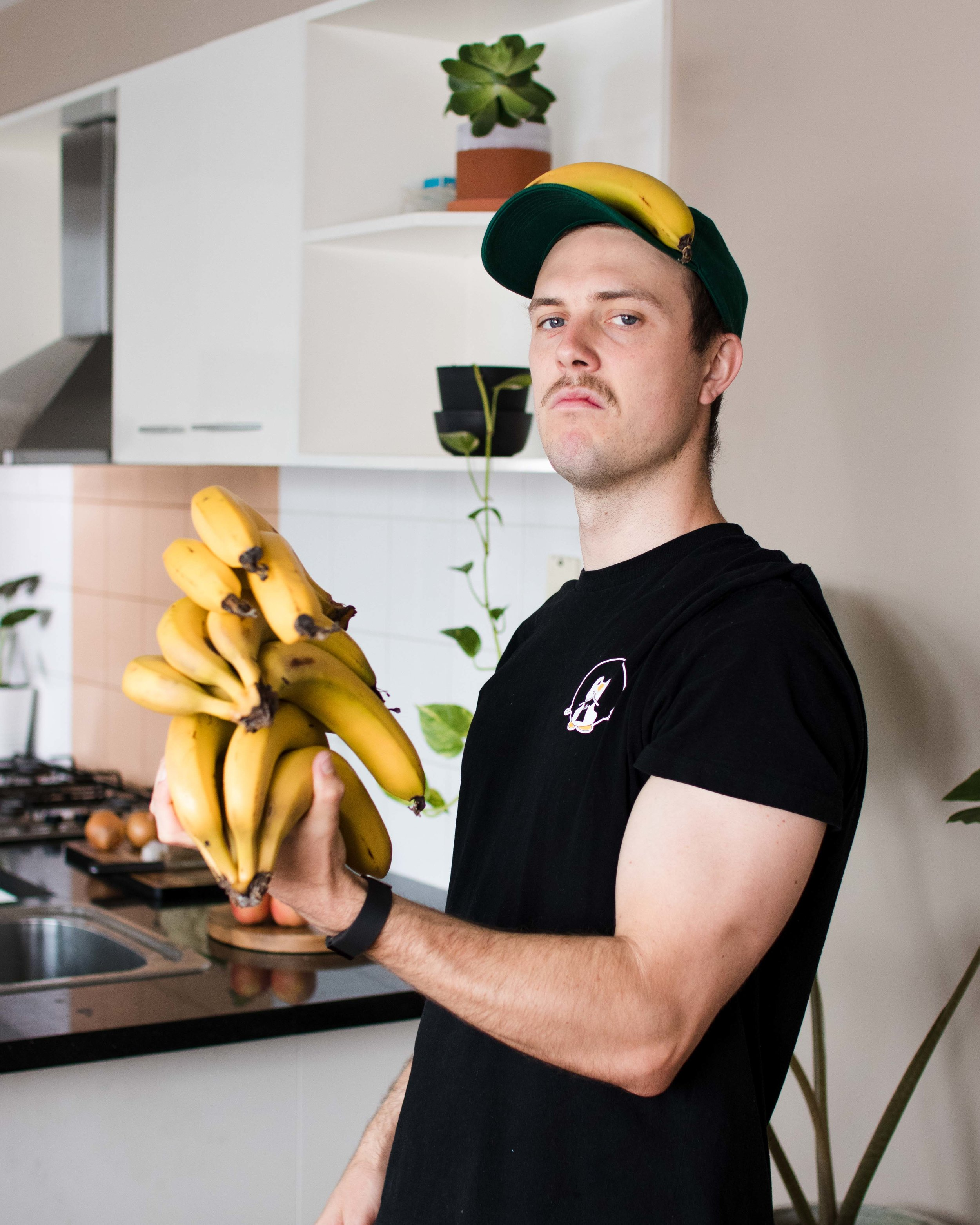 """""""I could hardly lift a single banana… now i can rep bunches all day"""" - Jacob."""