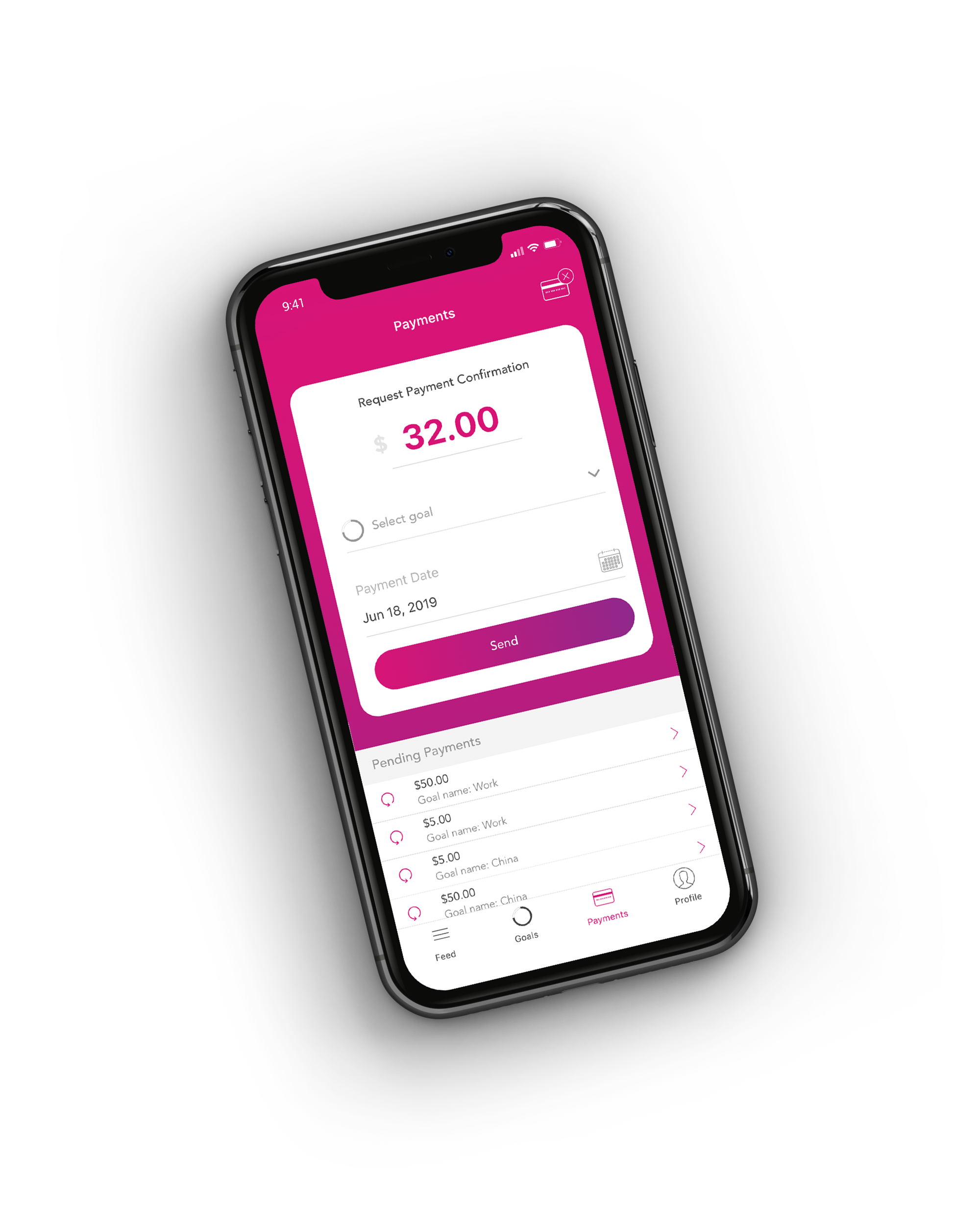 Record Payments - Let Paydby do the calculations and help you achieve your goals on time. Settle externally and record your transaction on the together app.