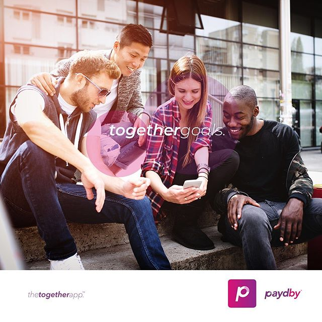 Stay connected with friends and accomplish your goals together!  Paydby is the app that keeps it all in the one place, making shared events and projects simple and achievable for everyone.  #togethergoals #bettertogether #paydby